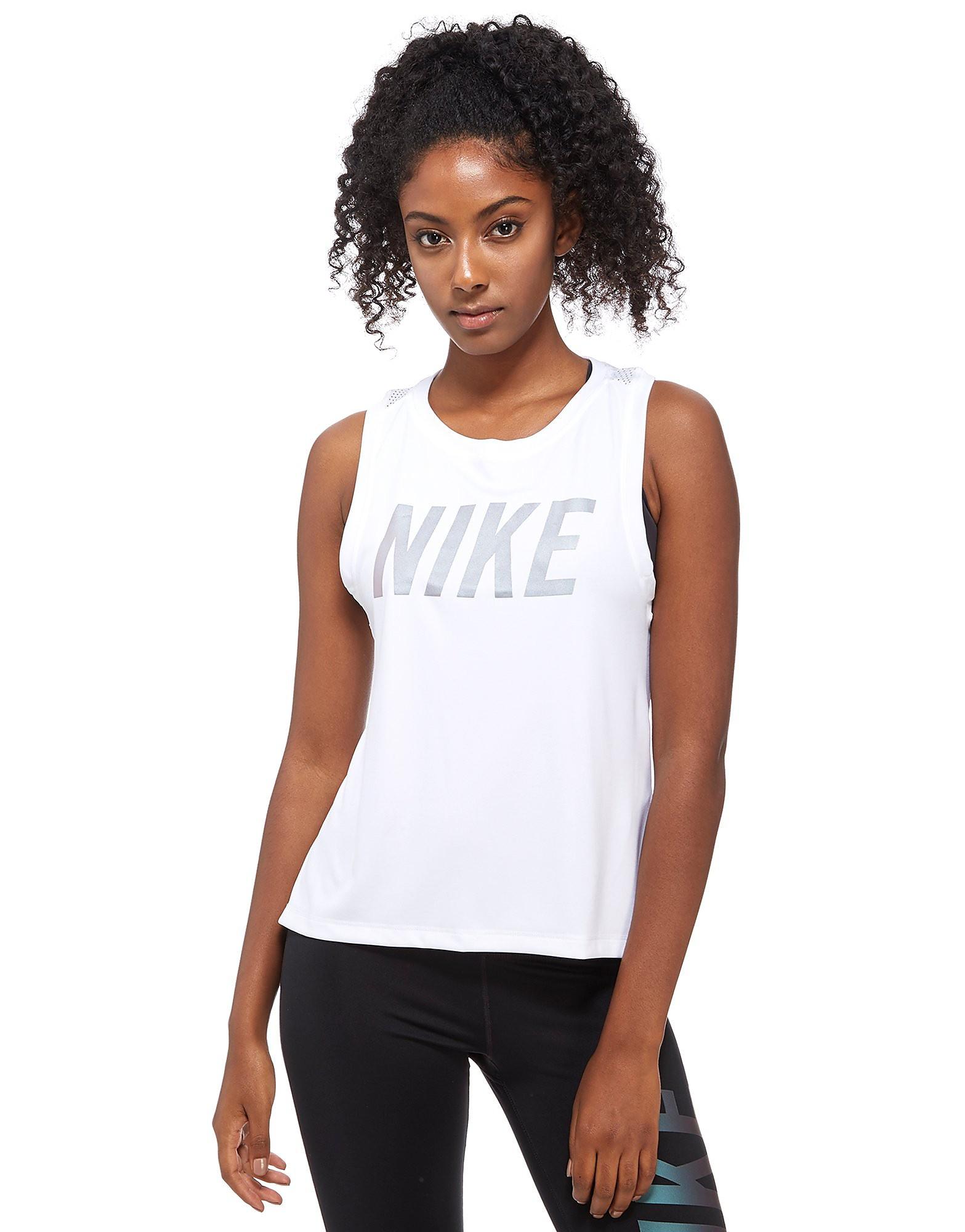 Nike Metallic Dry Miler Running Tank