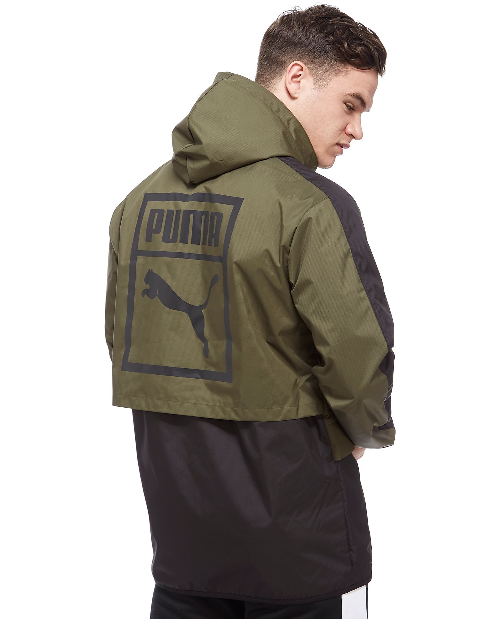 PUMA Archive Logo Windbreaker Jacket Heren