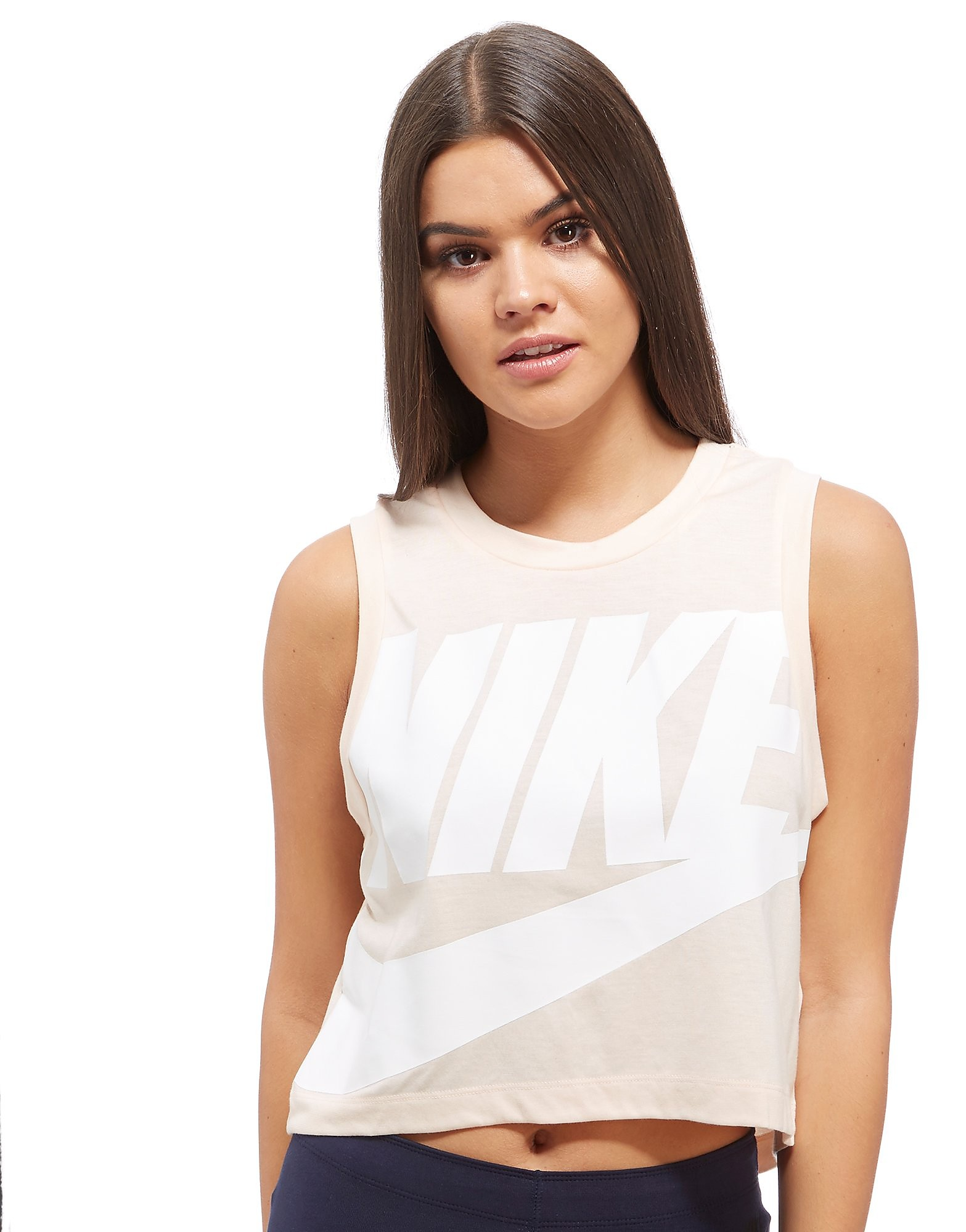 Nike Débardeur Crop Tank Femme