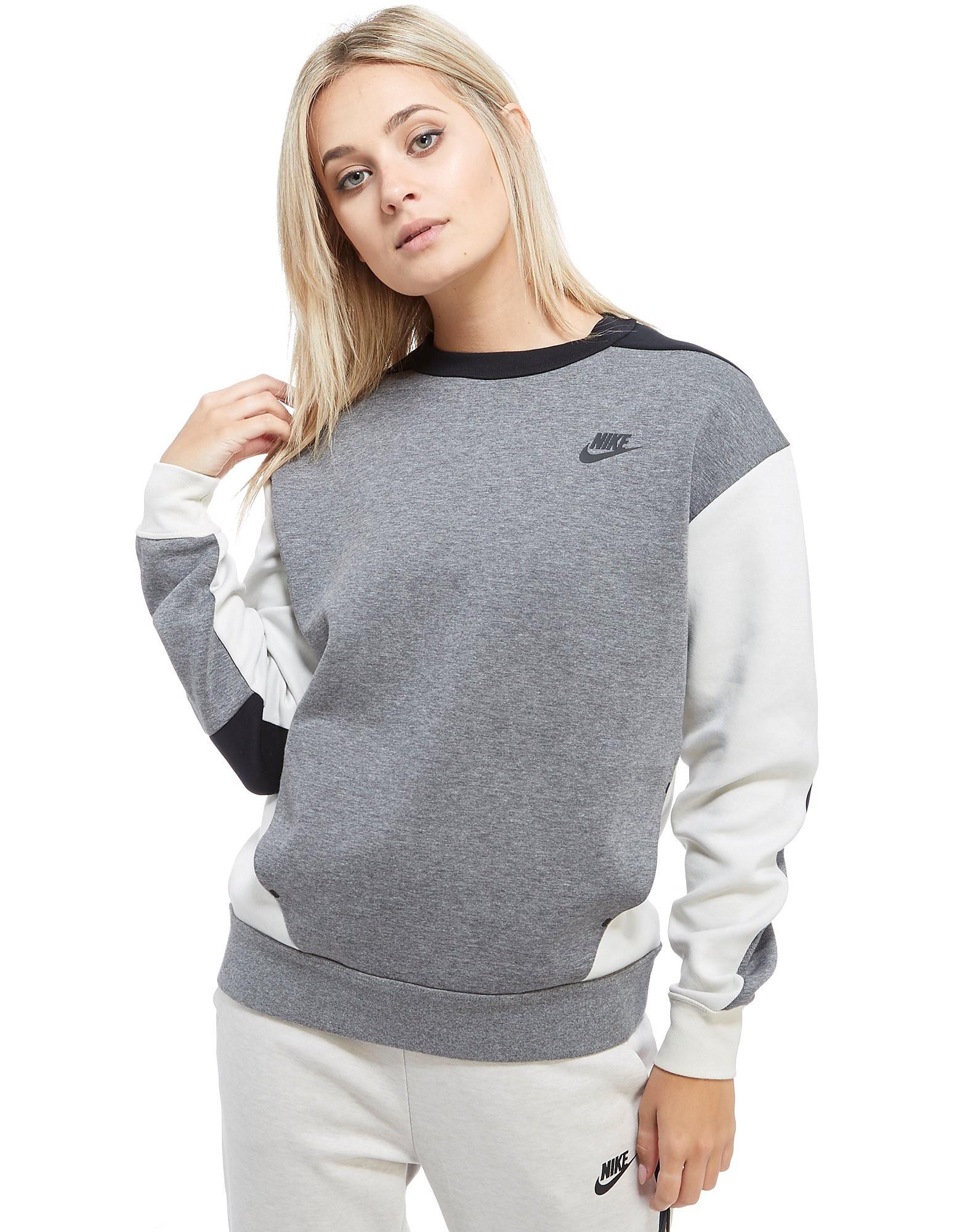 Nike Tech Fleece Colourblock Crew Sweatshirt