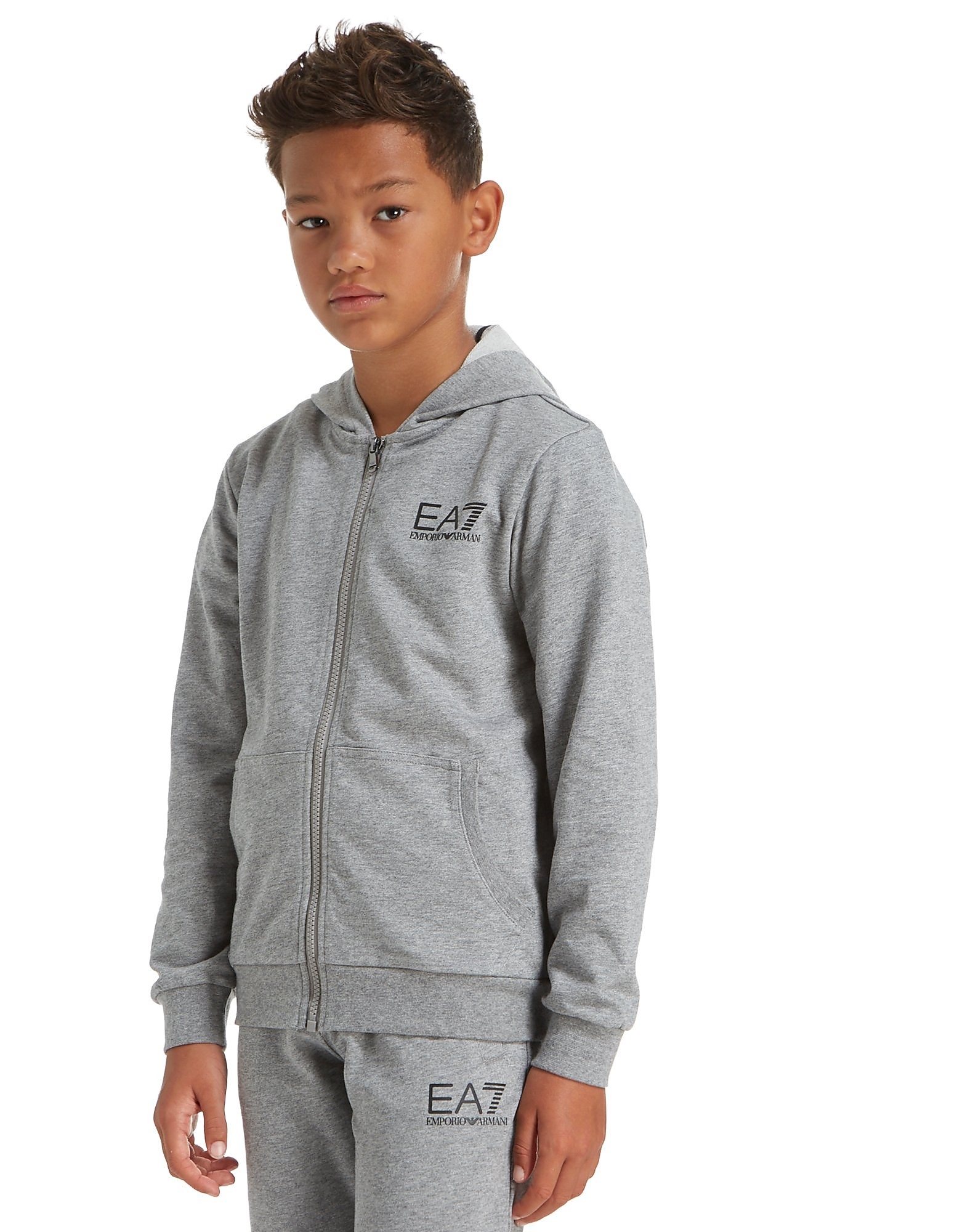 Emporio Armani EA7 Core Full Zip Hoodie Junior