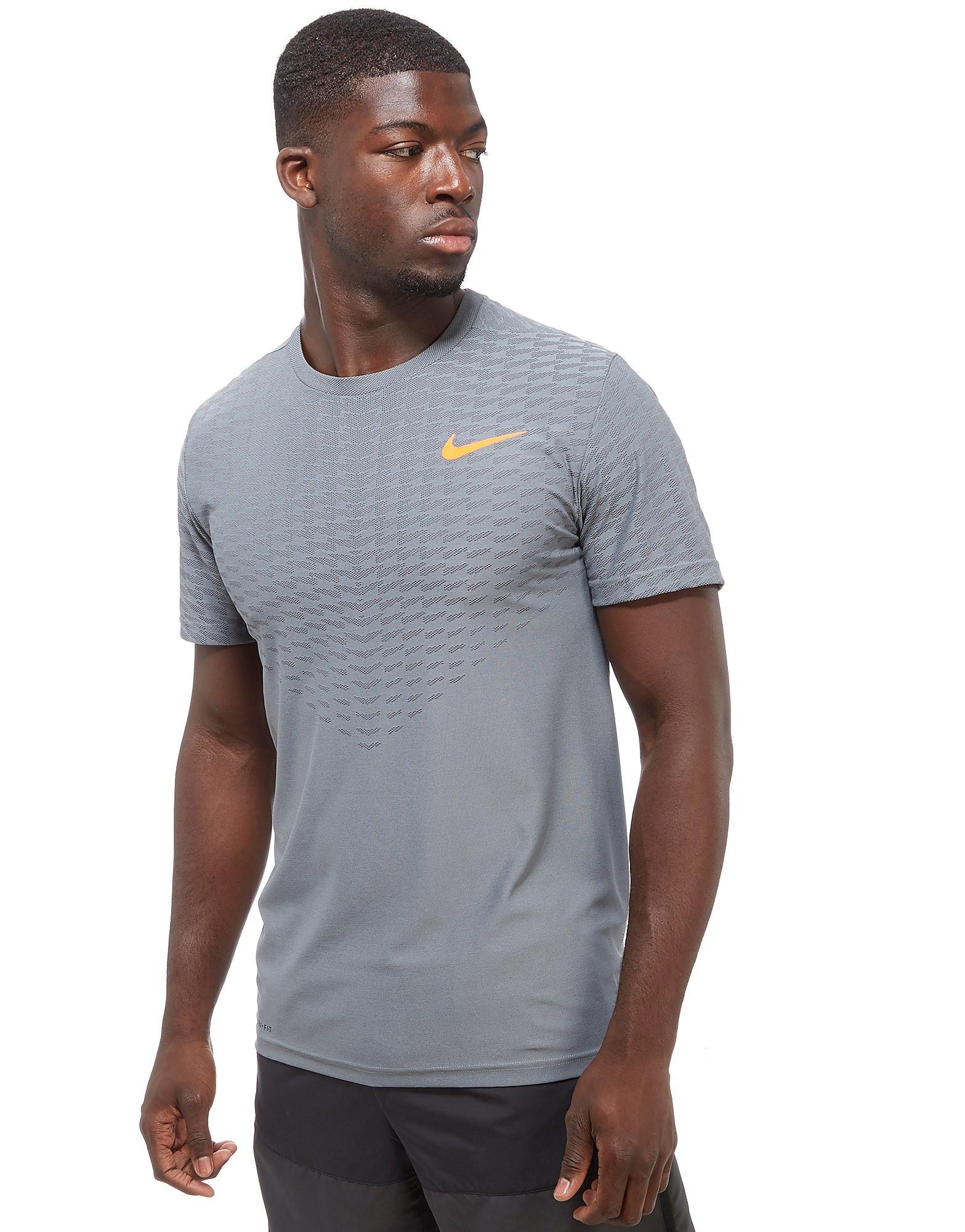 Nike Zonal Cooling T-Shirt Grey