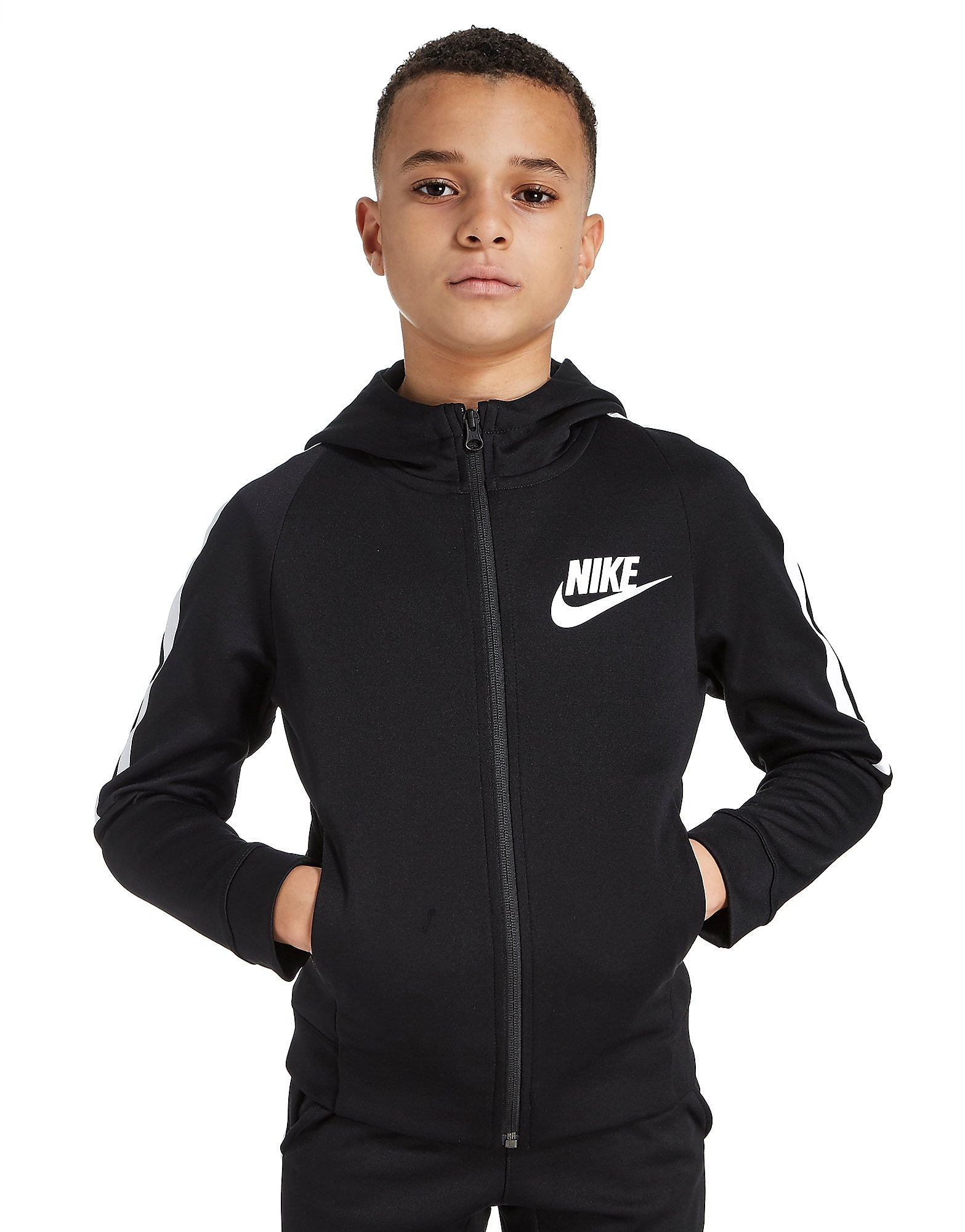 Nike chaqueta Tribute Full-Zip Poly júnior