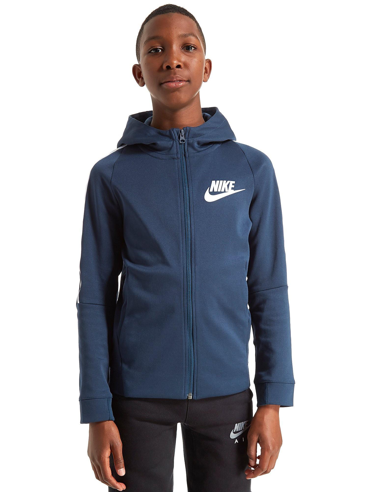 Nike Tribute Full Zip Poly Hoodie Junior