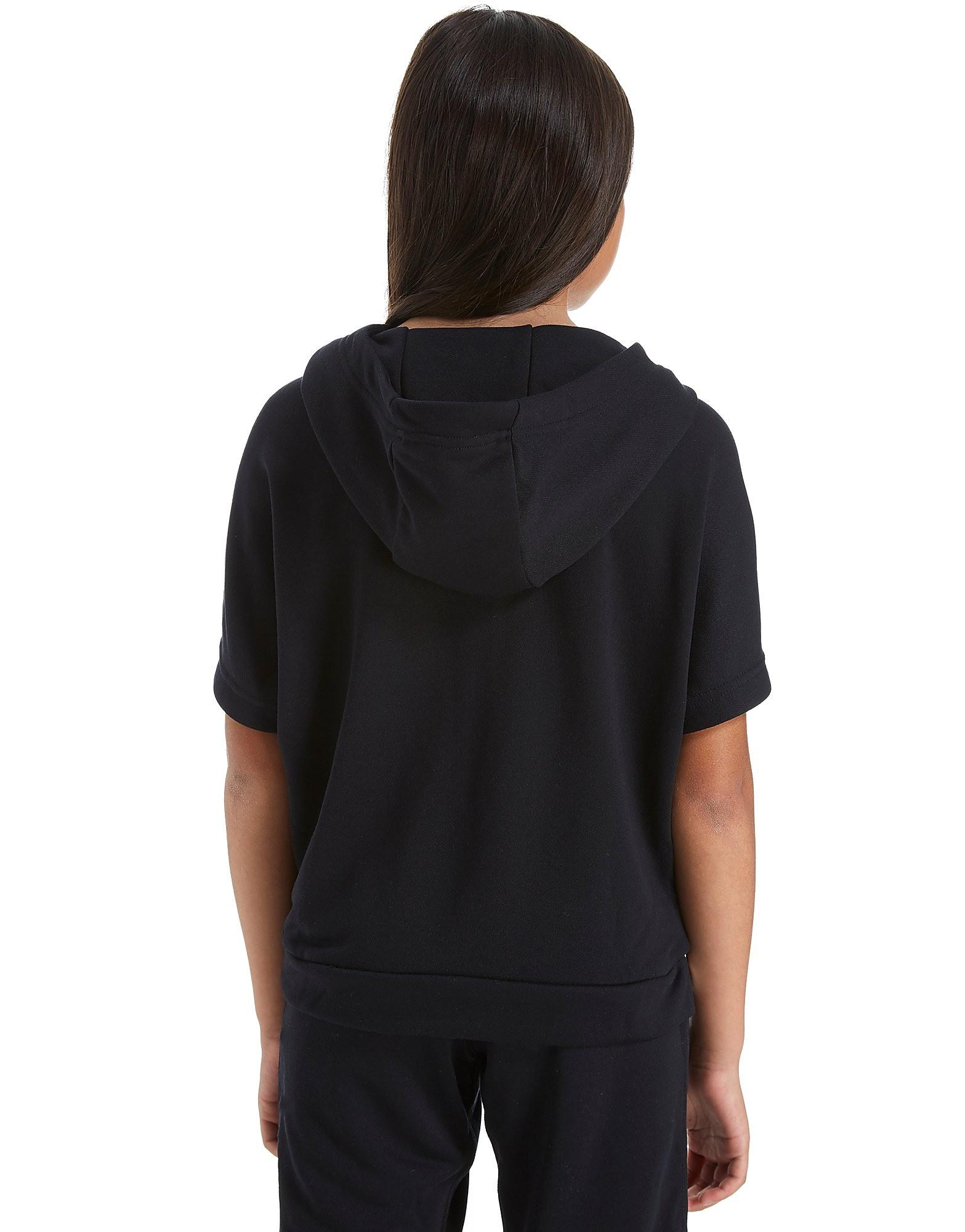 Nike Girls Short Sleeve Studio Hoody Junior