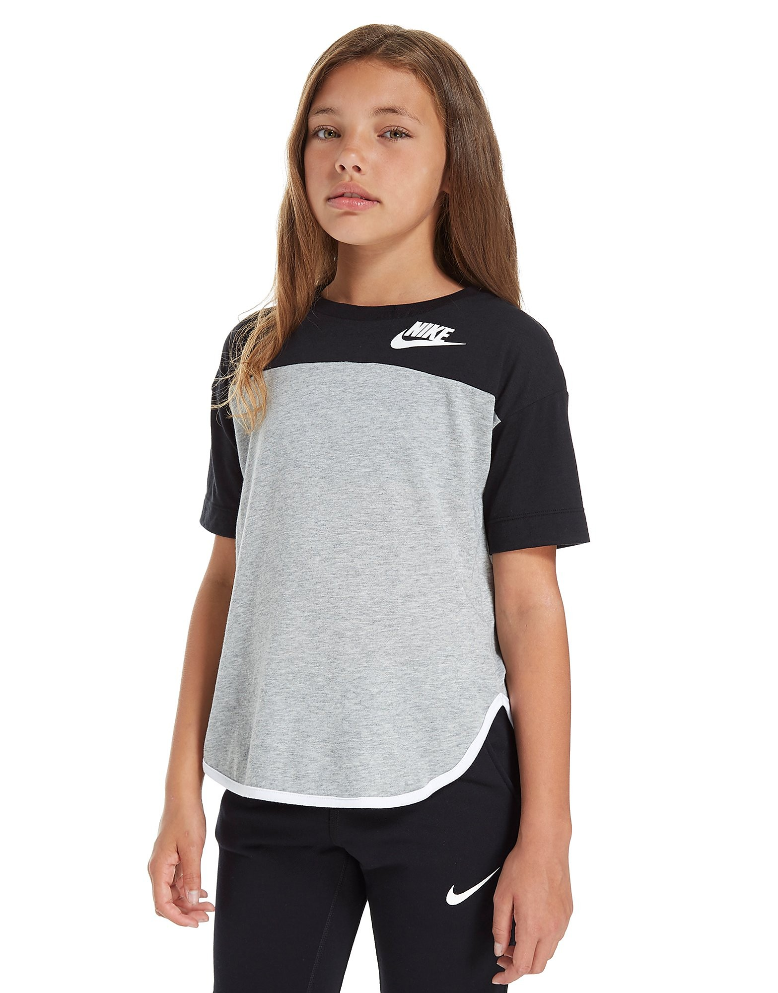 Nike Girls' Long Line T-Shirt Junior