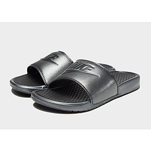 on sale 168df c06f3 Nike Benassi Slides Womens Nike Benassi Slides Womens