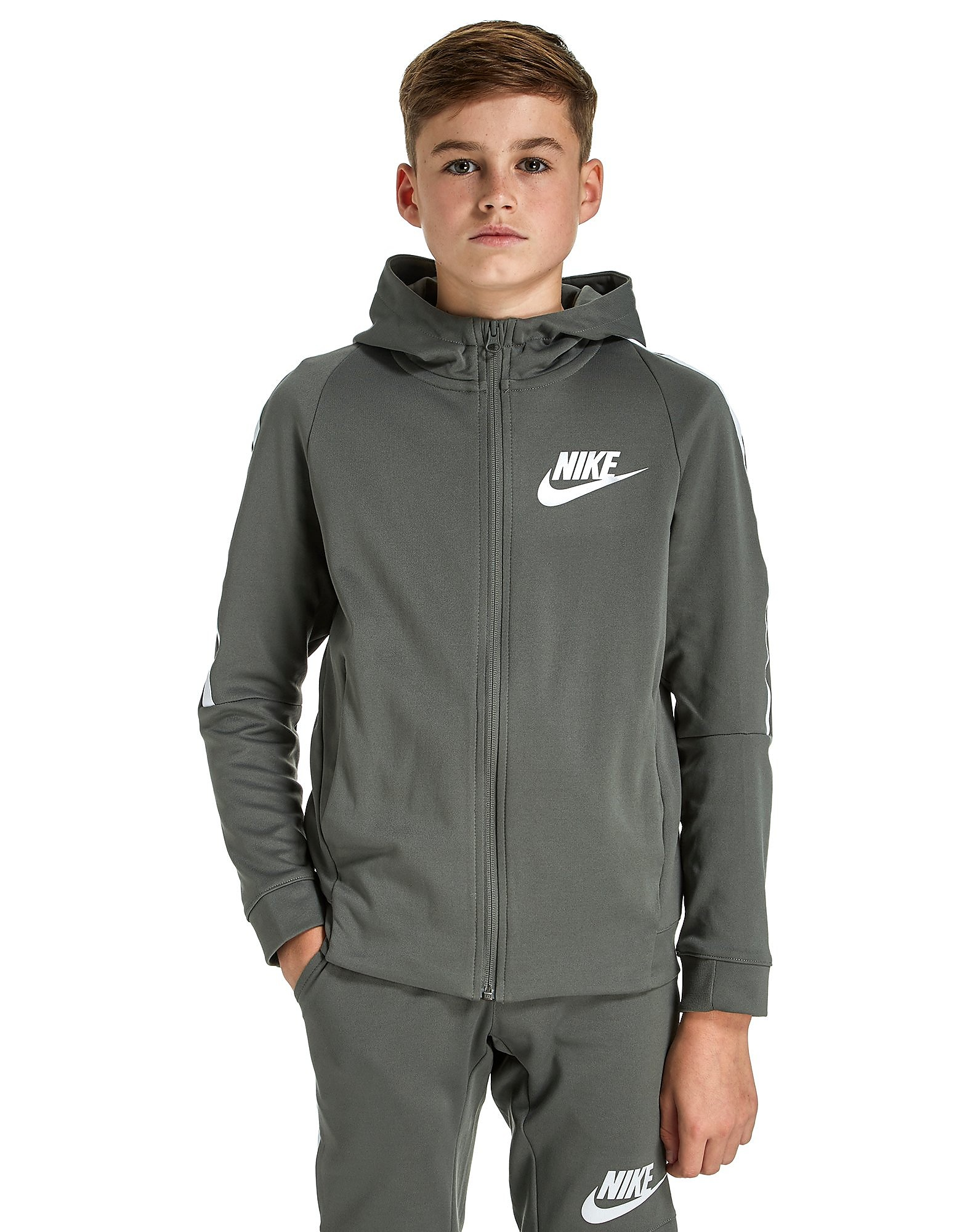 Nike Tribute Full Zip Poly Hoodie Junior