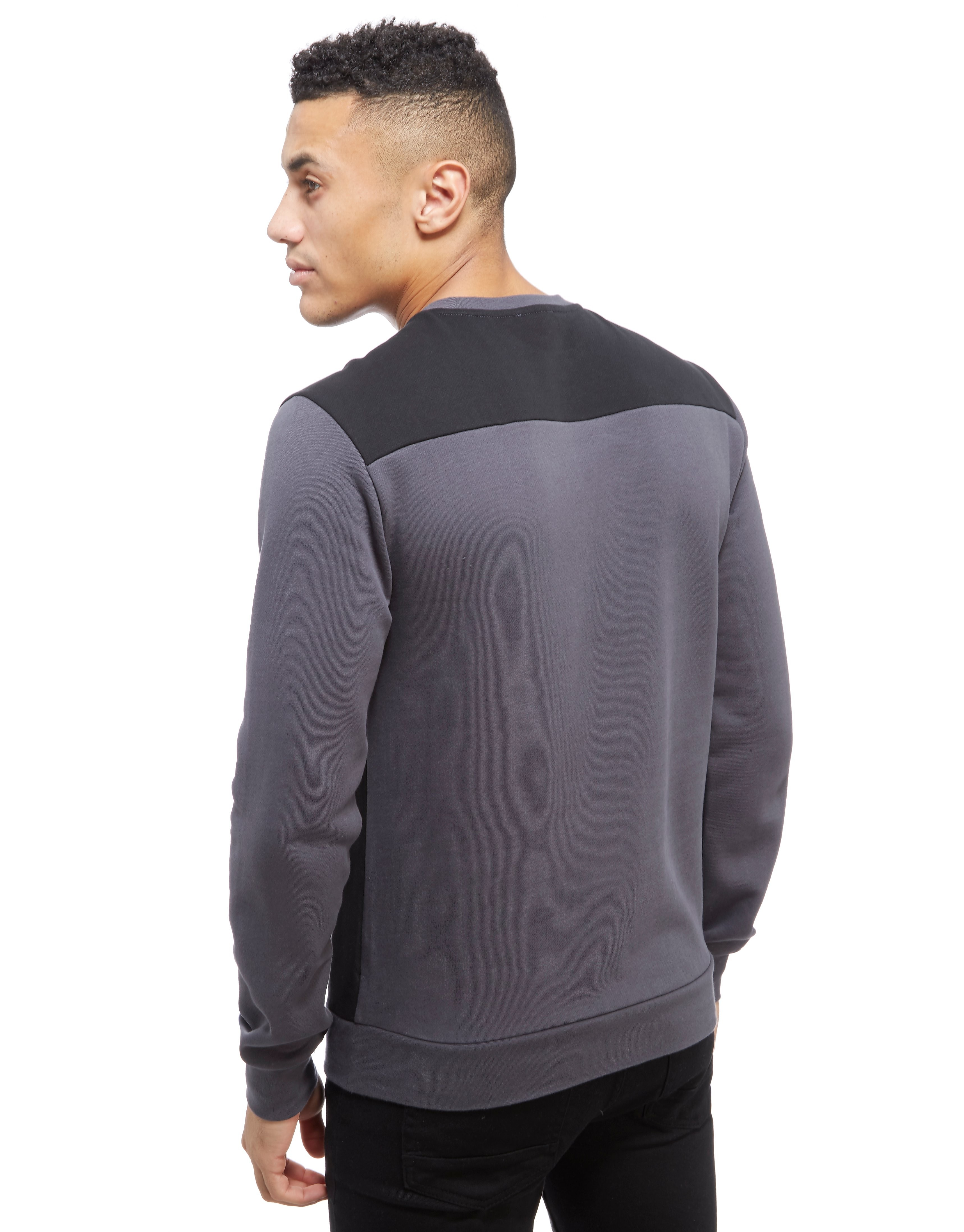 Emporio Armani EA7 Colour Block Crew Neck Sweatshirt