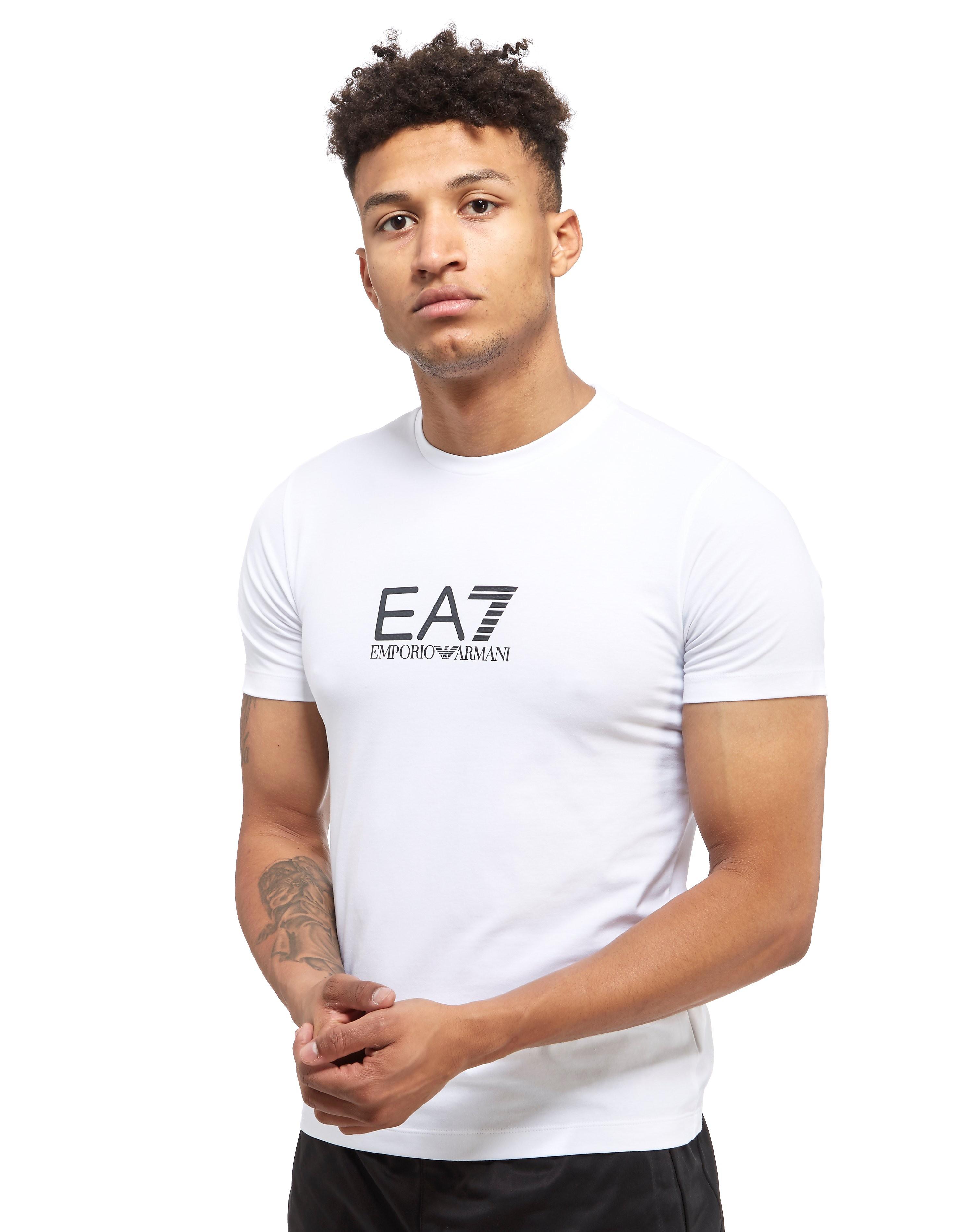Emporio Armani EA7 camiseta Carbon Print