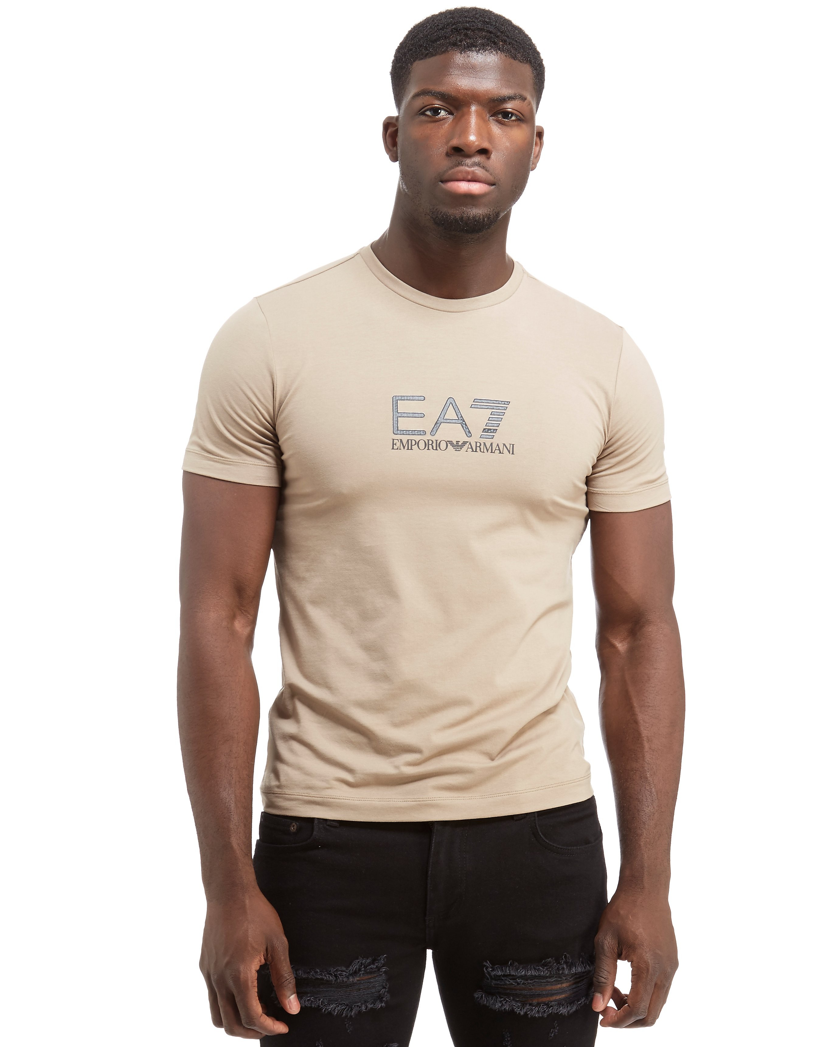 Emporio Armani EA7 Carbon Print Short Sleeve T-Shirt