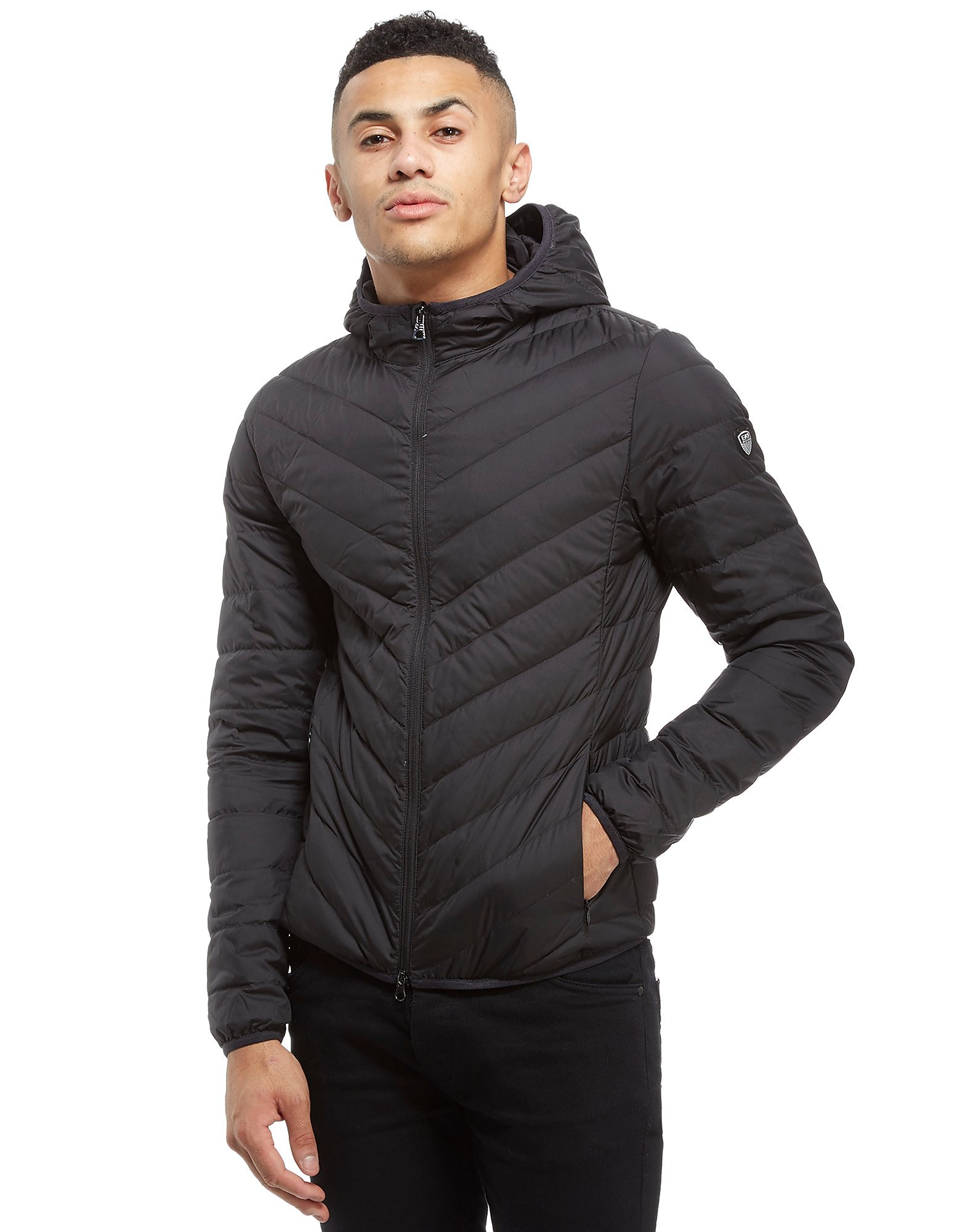 Emporio Armani EA7 Shield Logo Bubble Jacket