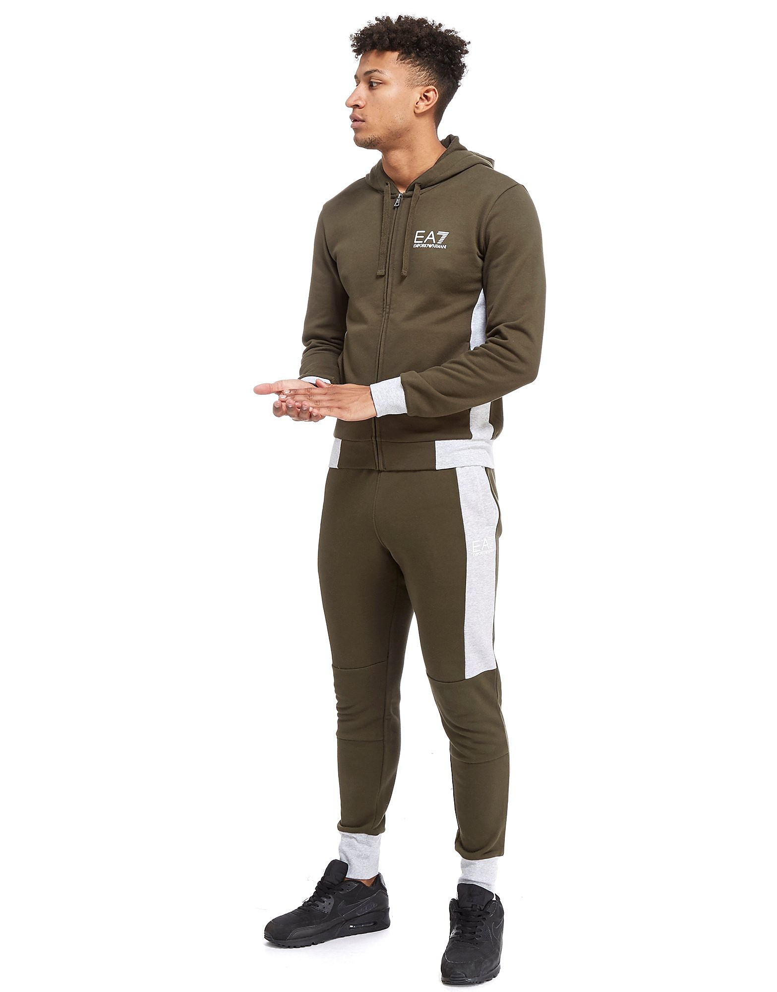 Emporio Armani EA7 Colourblock Panel Tracksuit