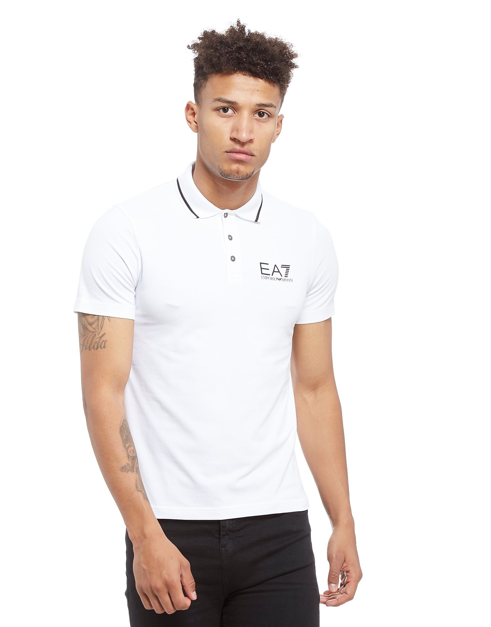 Emporio Armani EA7 Train Core Jersey Polo Shirt