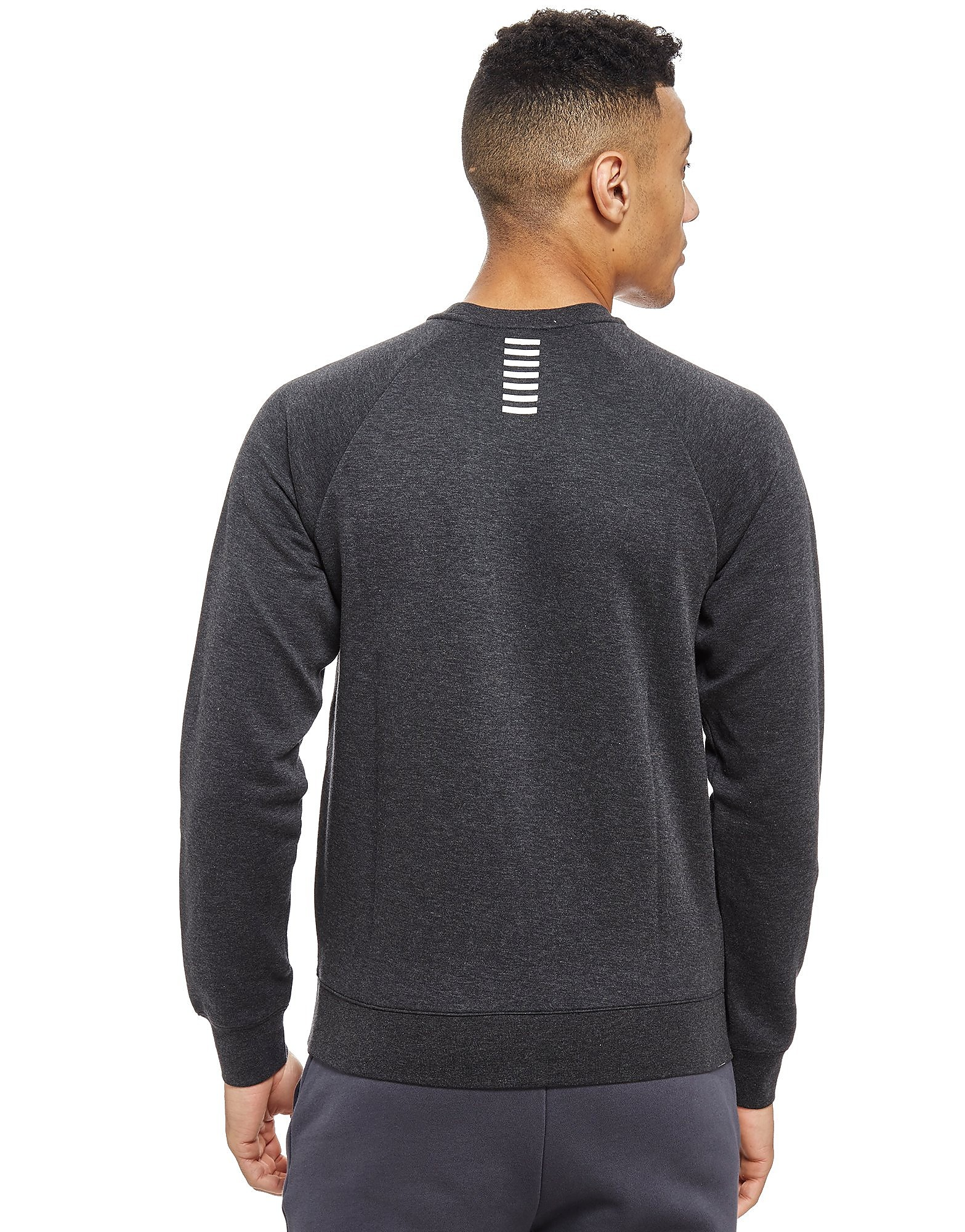Emporio Armani EA7 Double Knit Crew Sweatshirt Heren