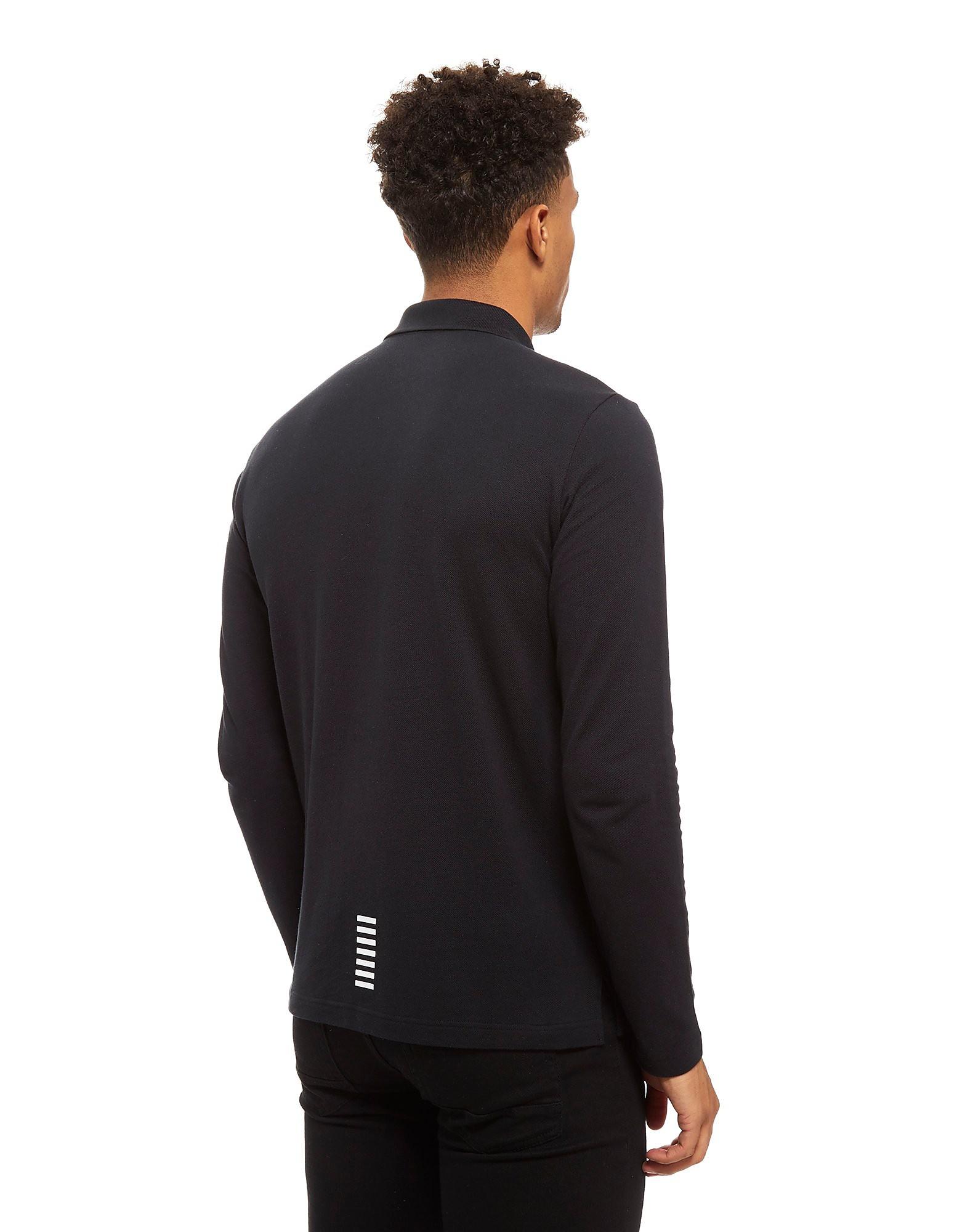 Emporio Armani EA7 Pique Long Sleeve Polo