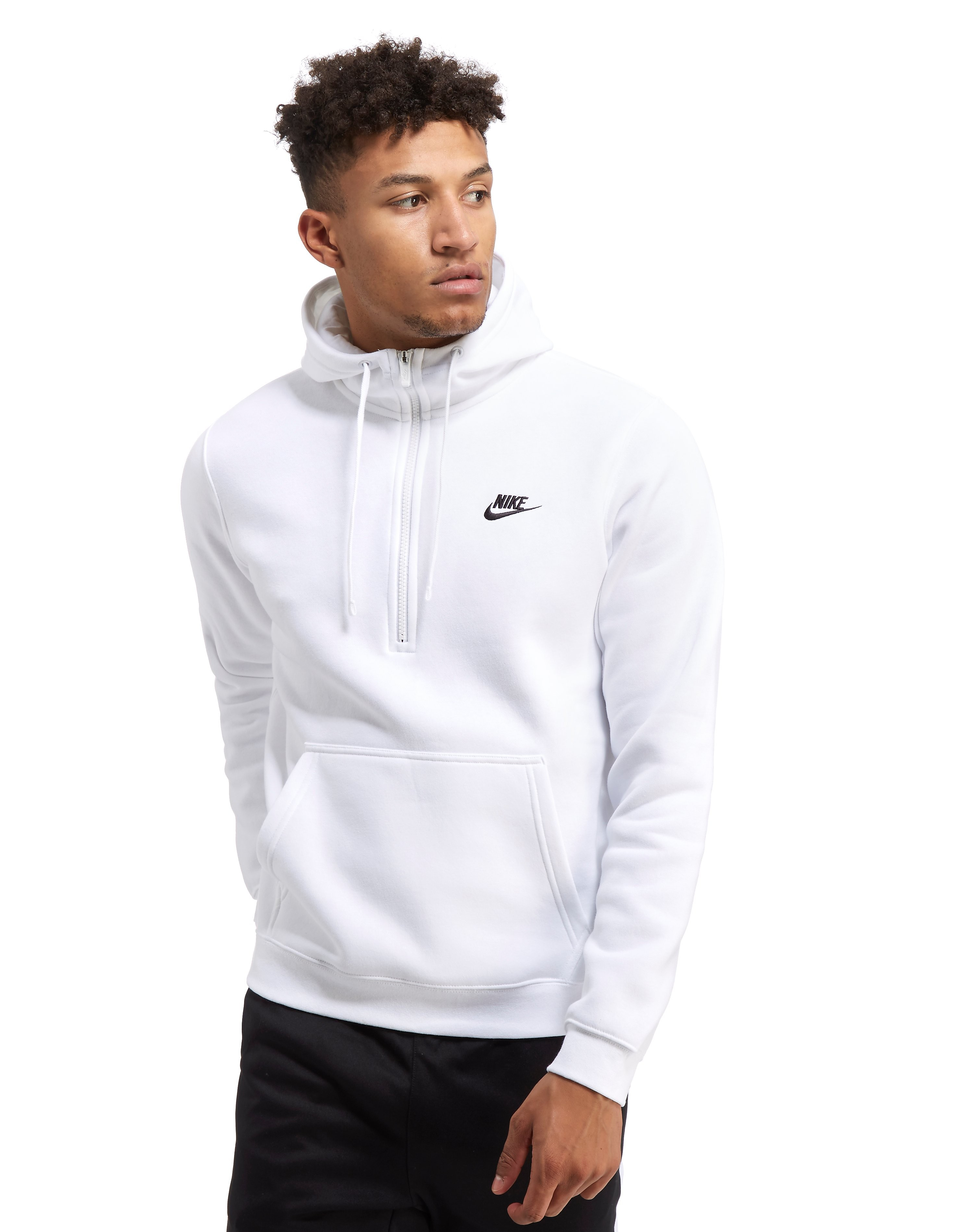 Nike Club Half-Zip Hoody Heren