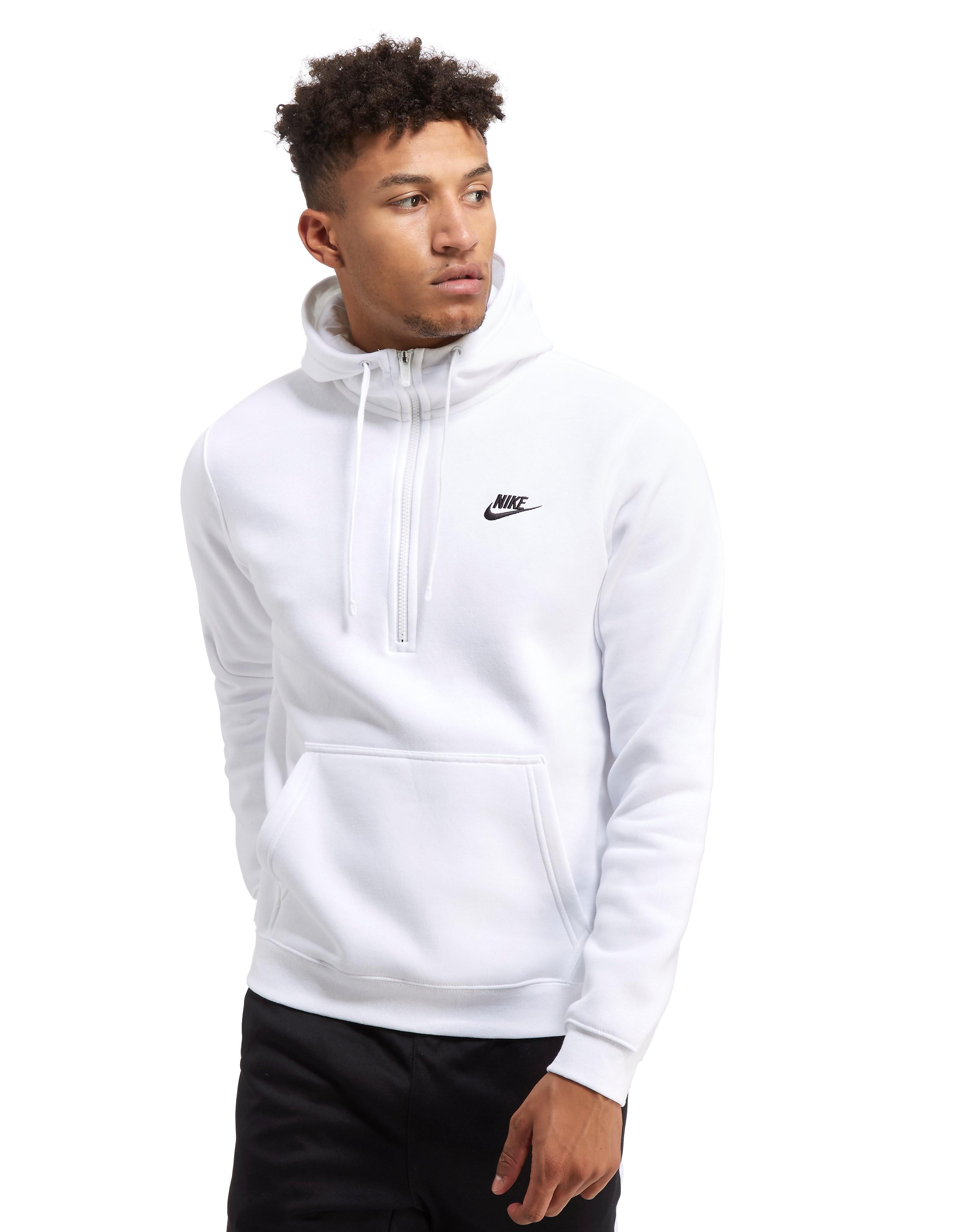 Nike Sweat à capuche Club Half Zip Homme