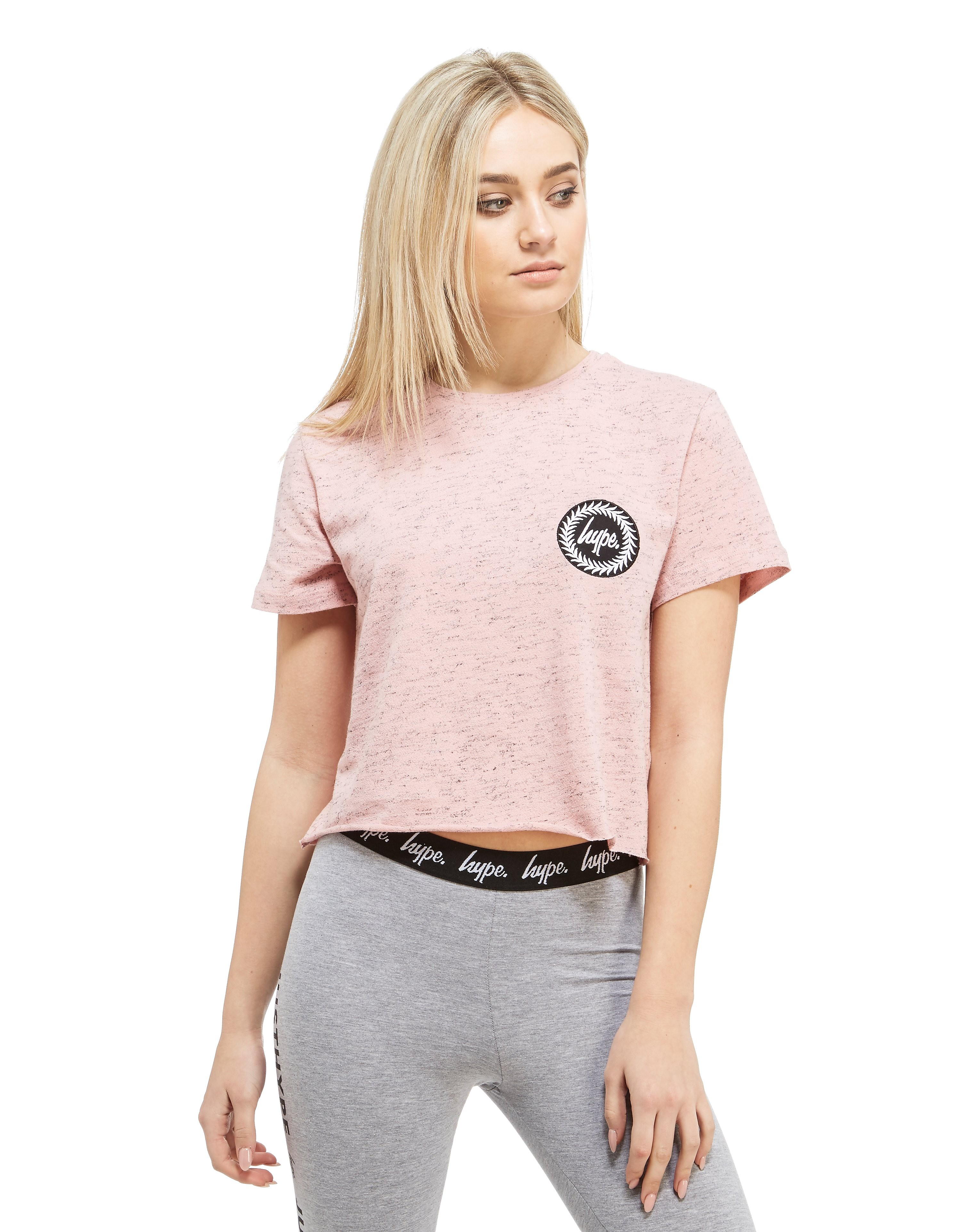Hype Crop Patch T-Shirt