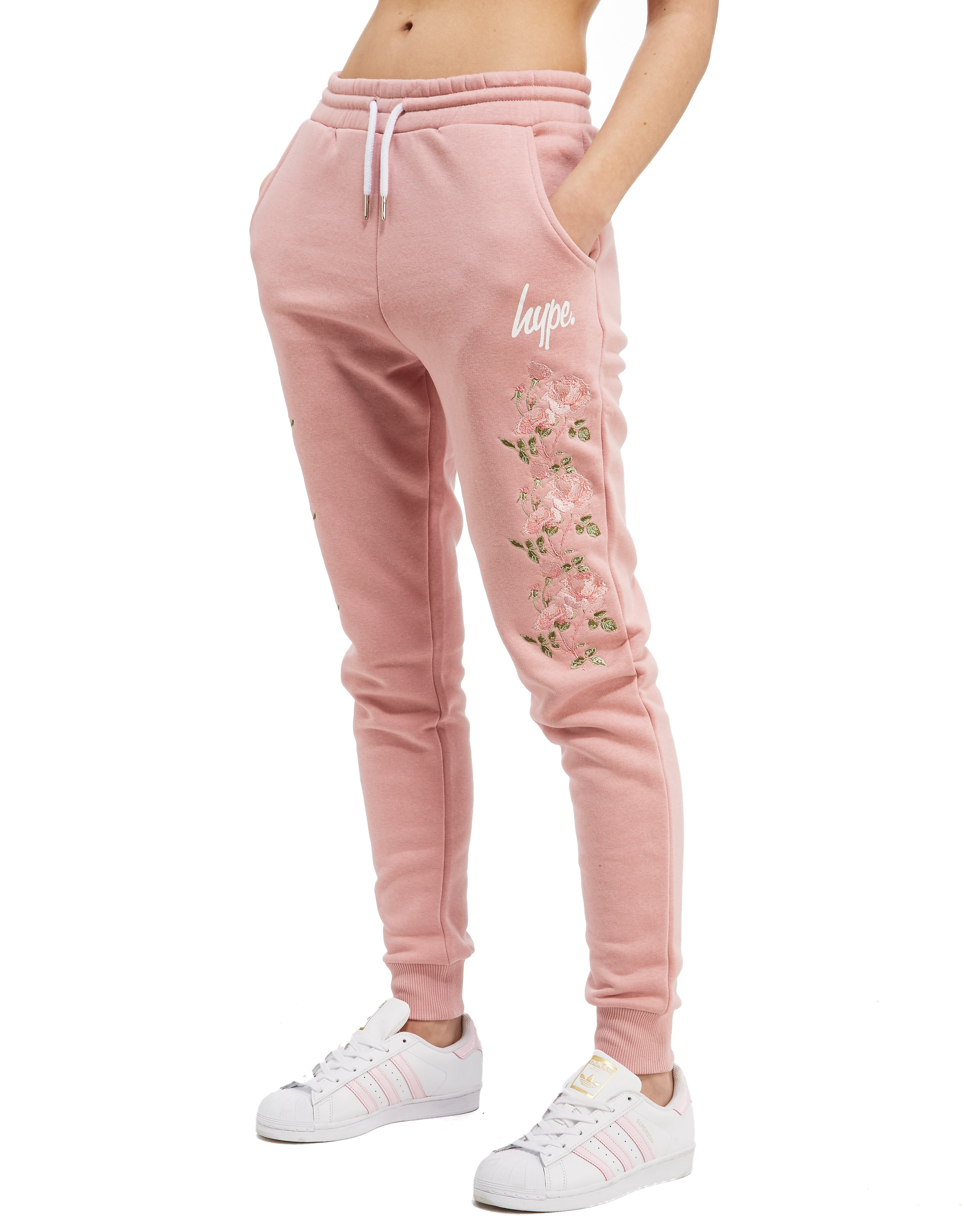 Hype Floral Fleece Pants