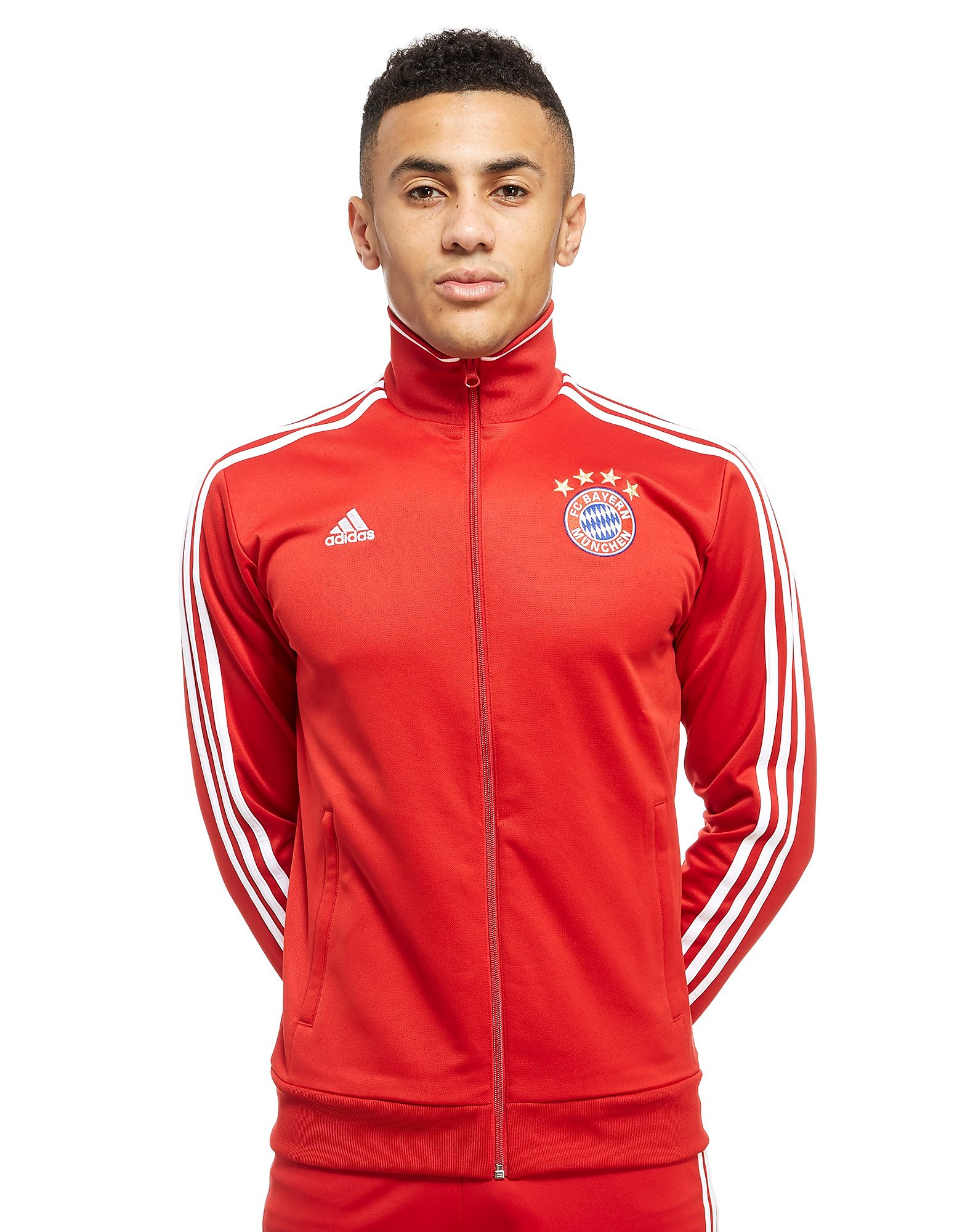 adidas FC Bayern Munich 3-Stripe Track Top Heren