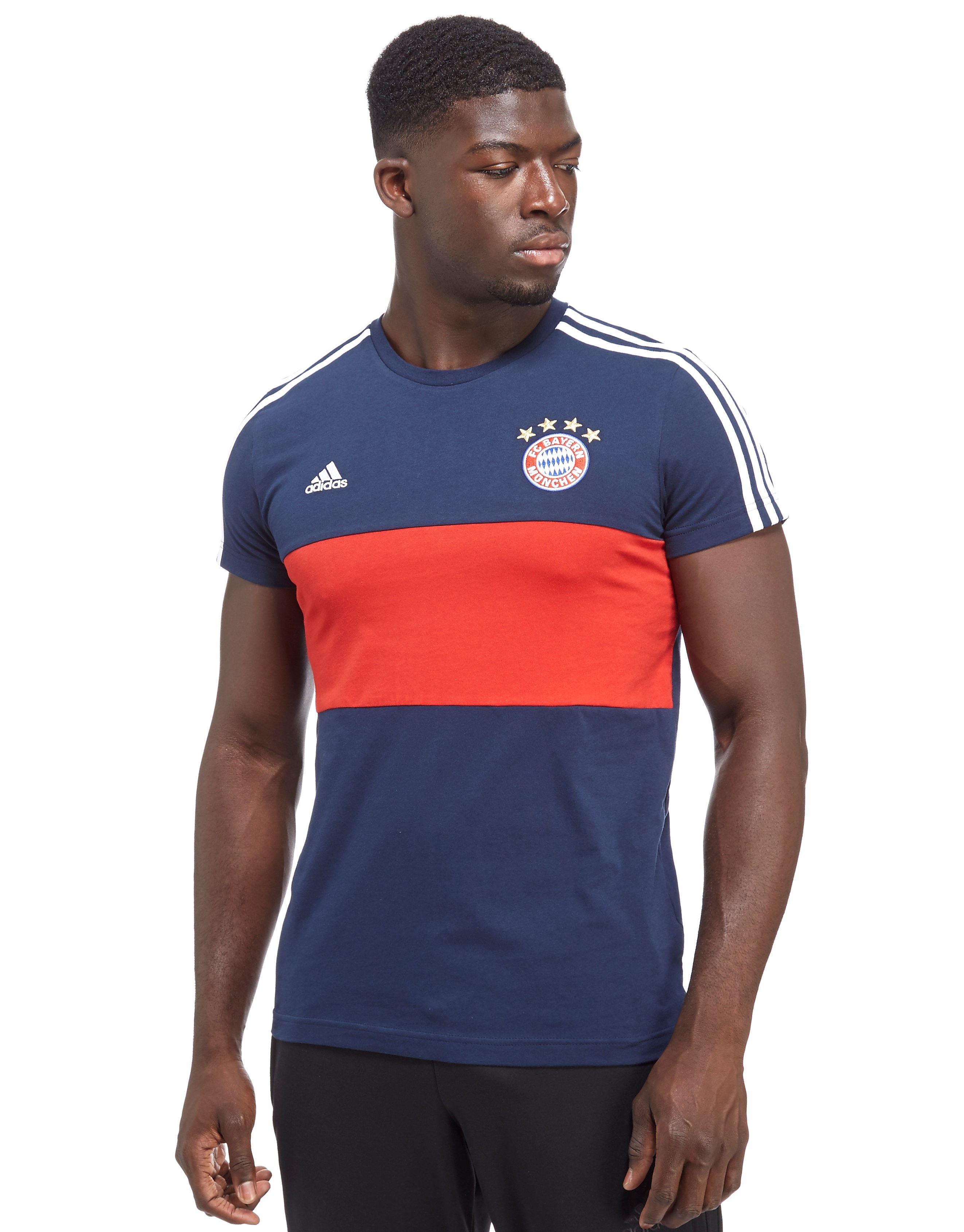 adidas T-shirt FC Bayern Munich 3 Stripes Homme