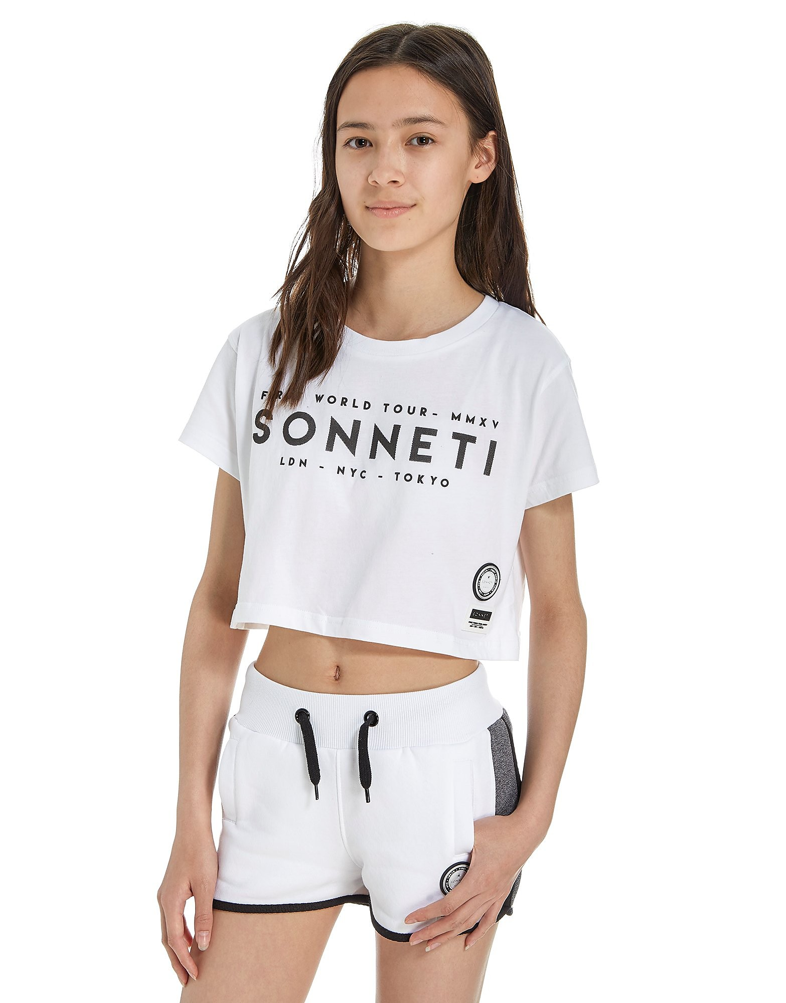 Sonneti Girls' Galaxy Crop T-Shirt Junior