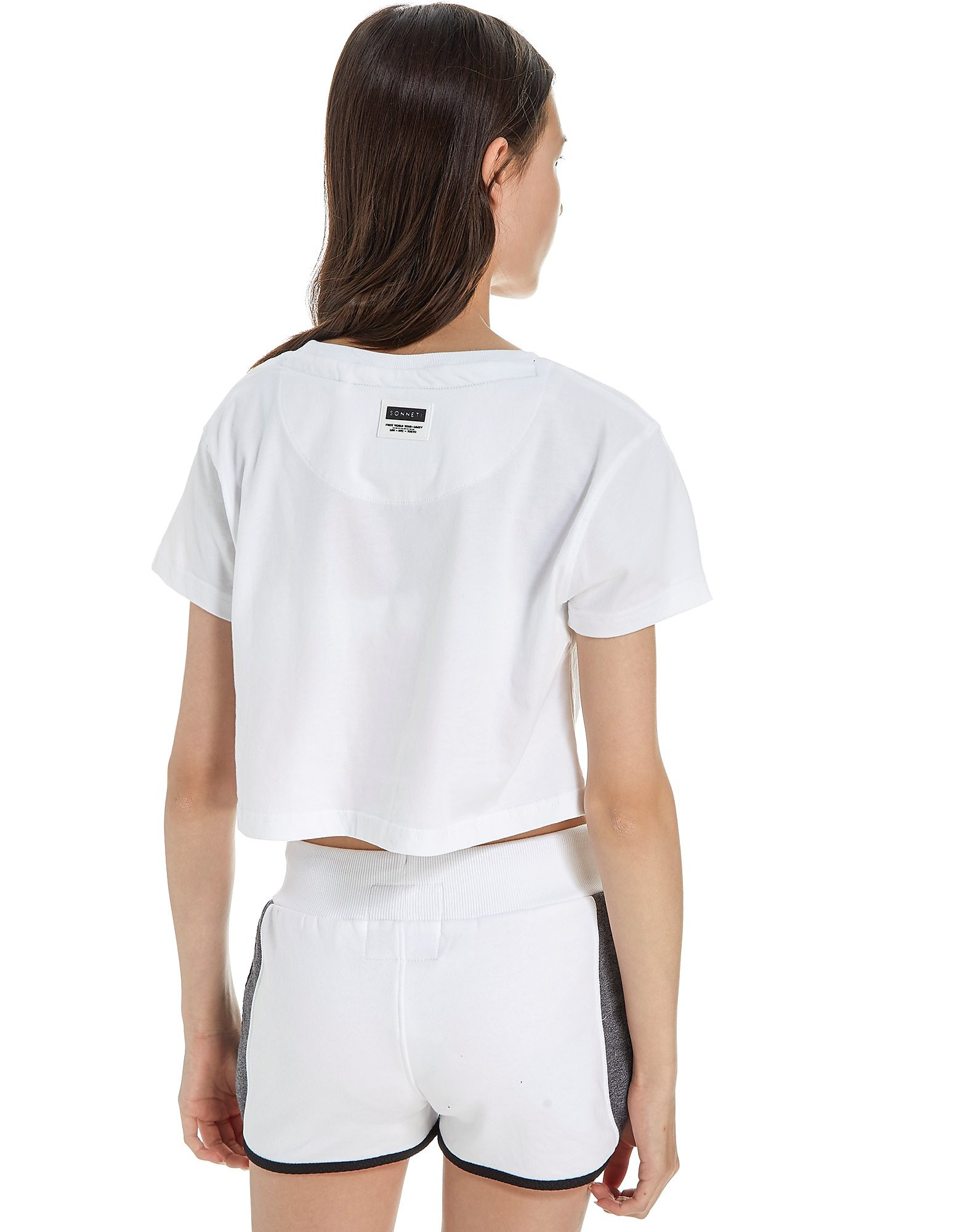 Sonneti Girls' Galaxy Crop T-Shirt Junior