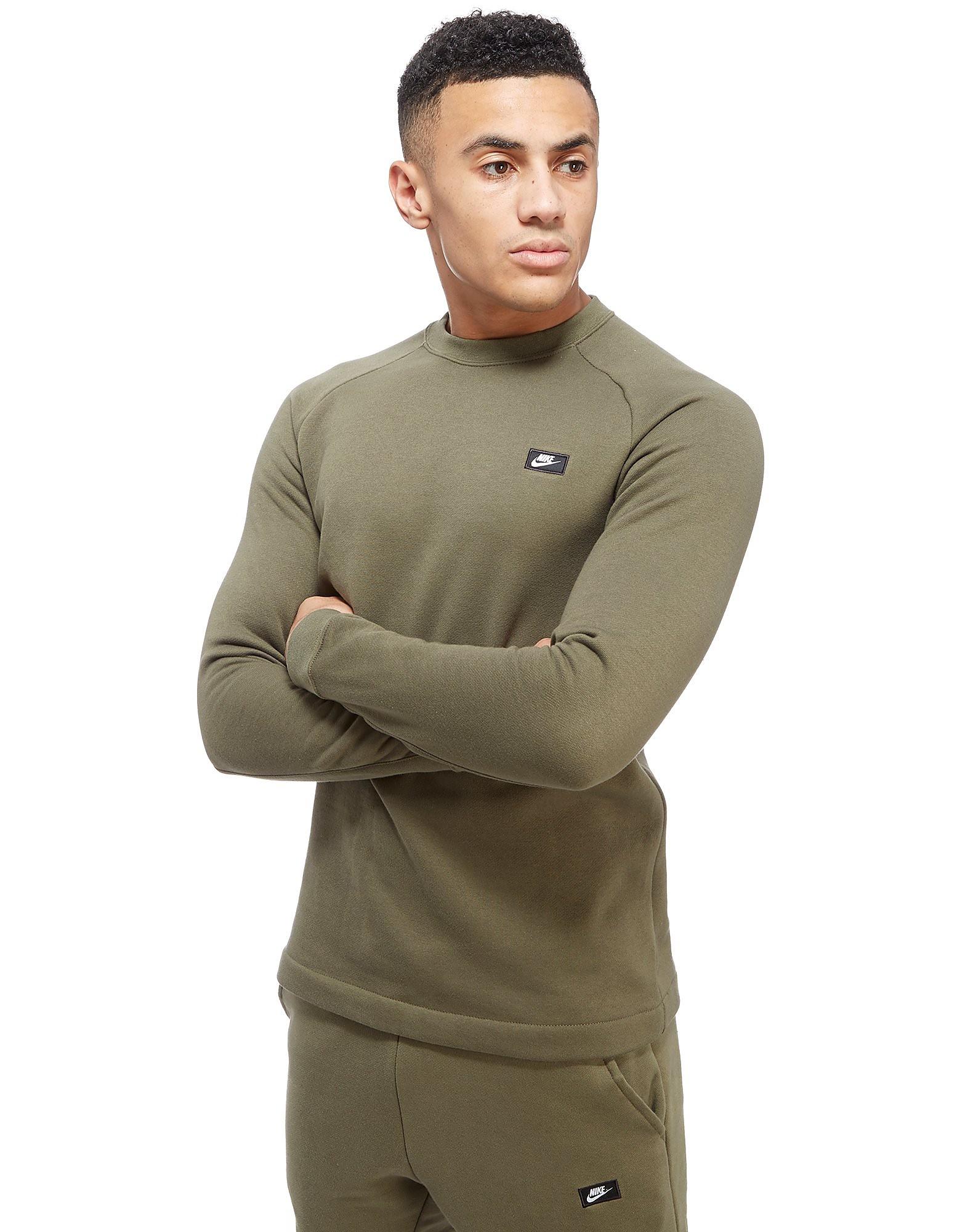 Nike Modern Crew Sweatshirt - Olive, Olive