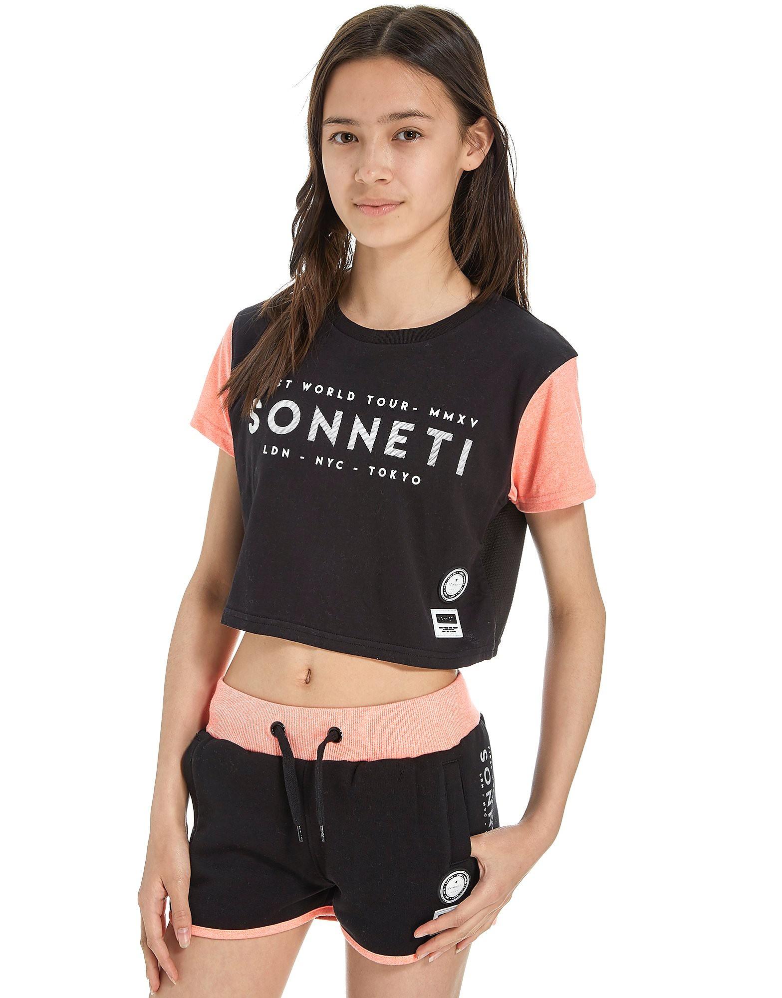 Sonneti Girls' Universal Crop T-Shirt Junior