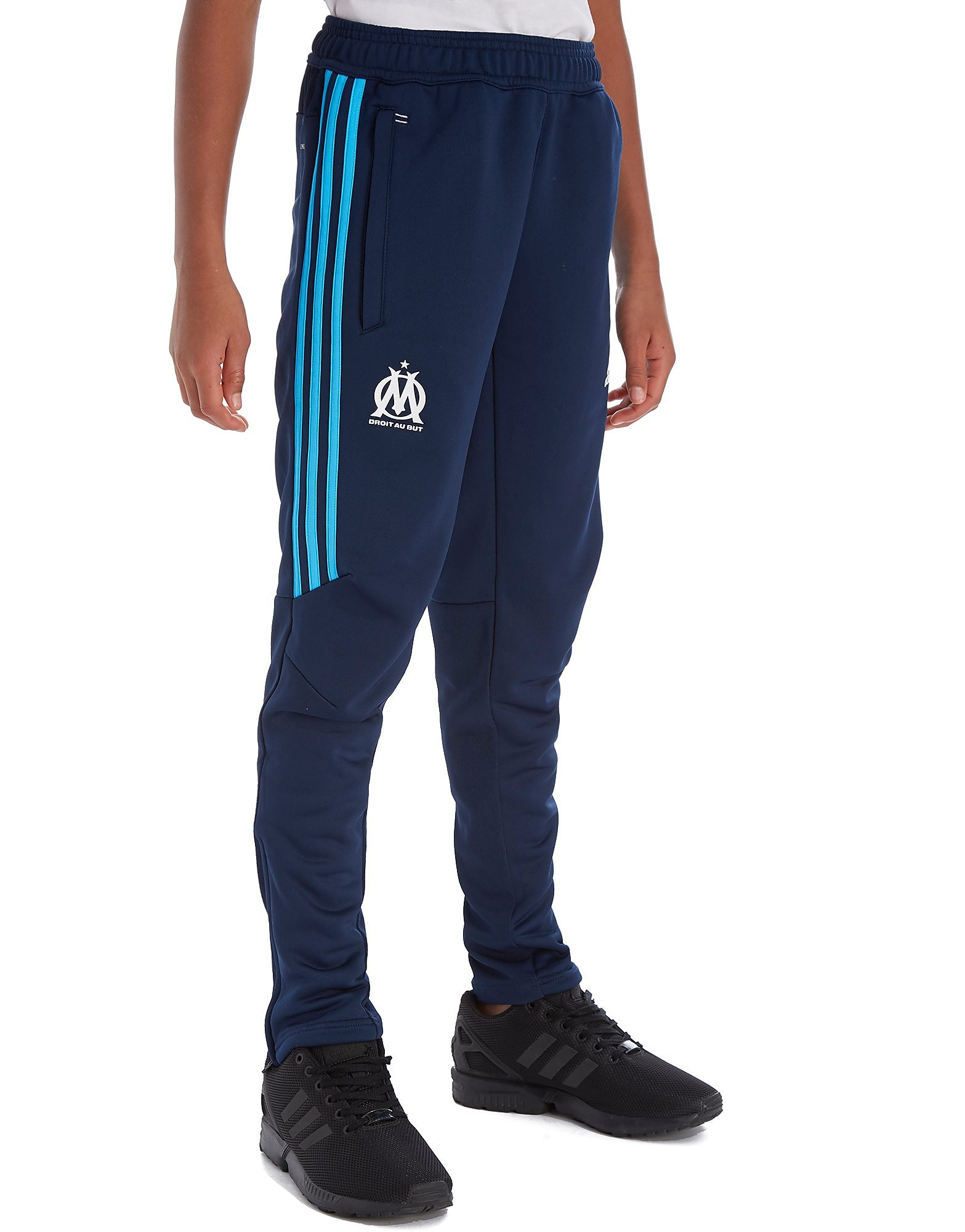 adidas Pantalon de survêtement Olympique Marseille 2017 Junior - Navy, Navy