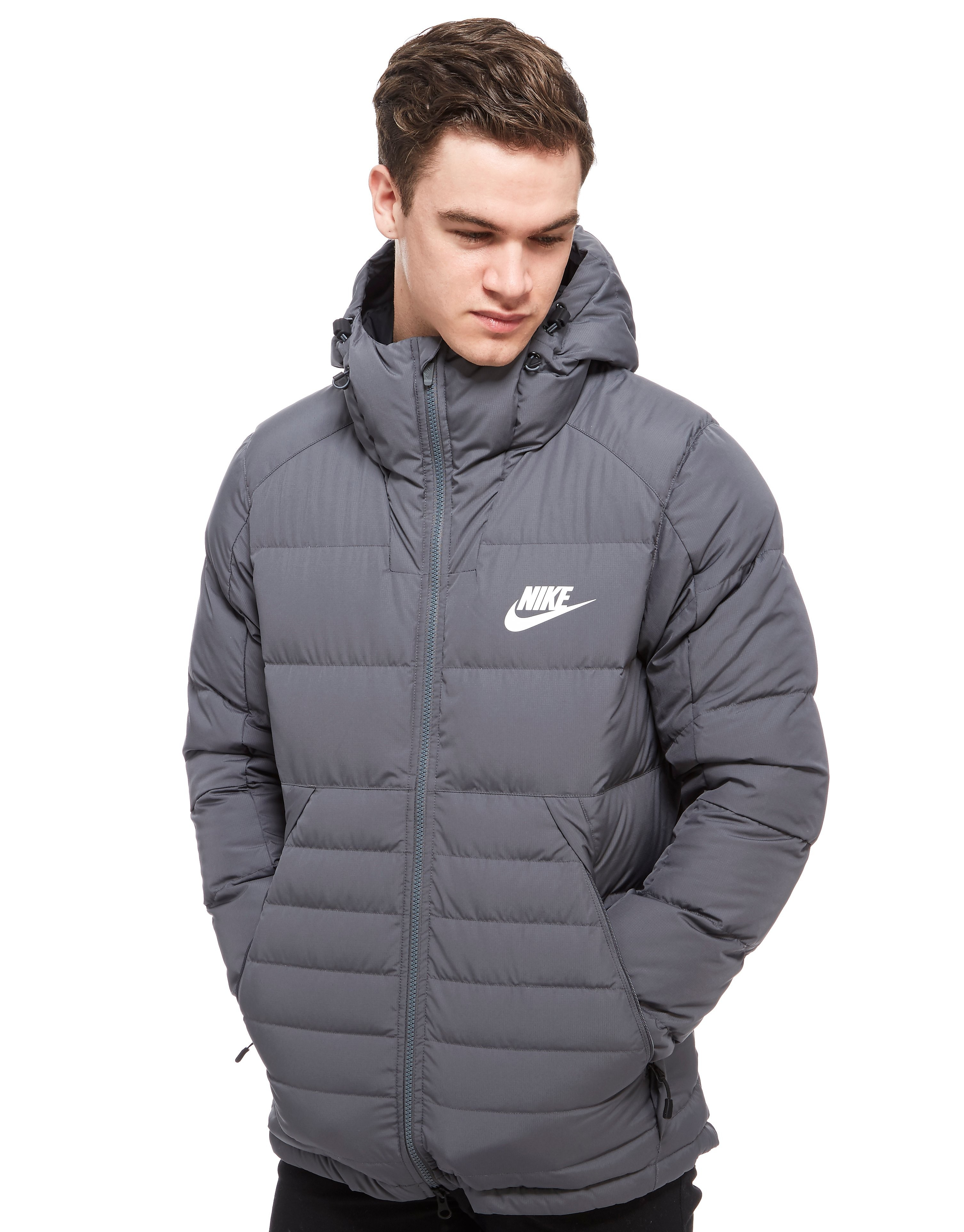 Nike Padded Down Hooded Jacket