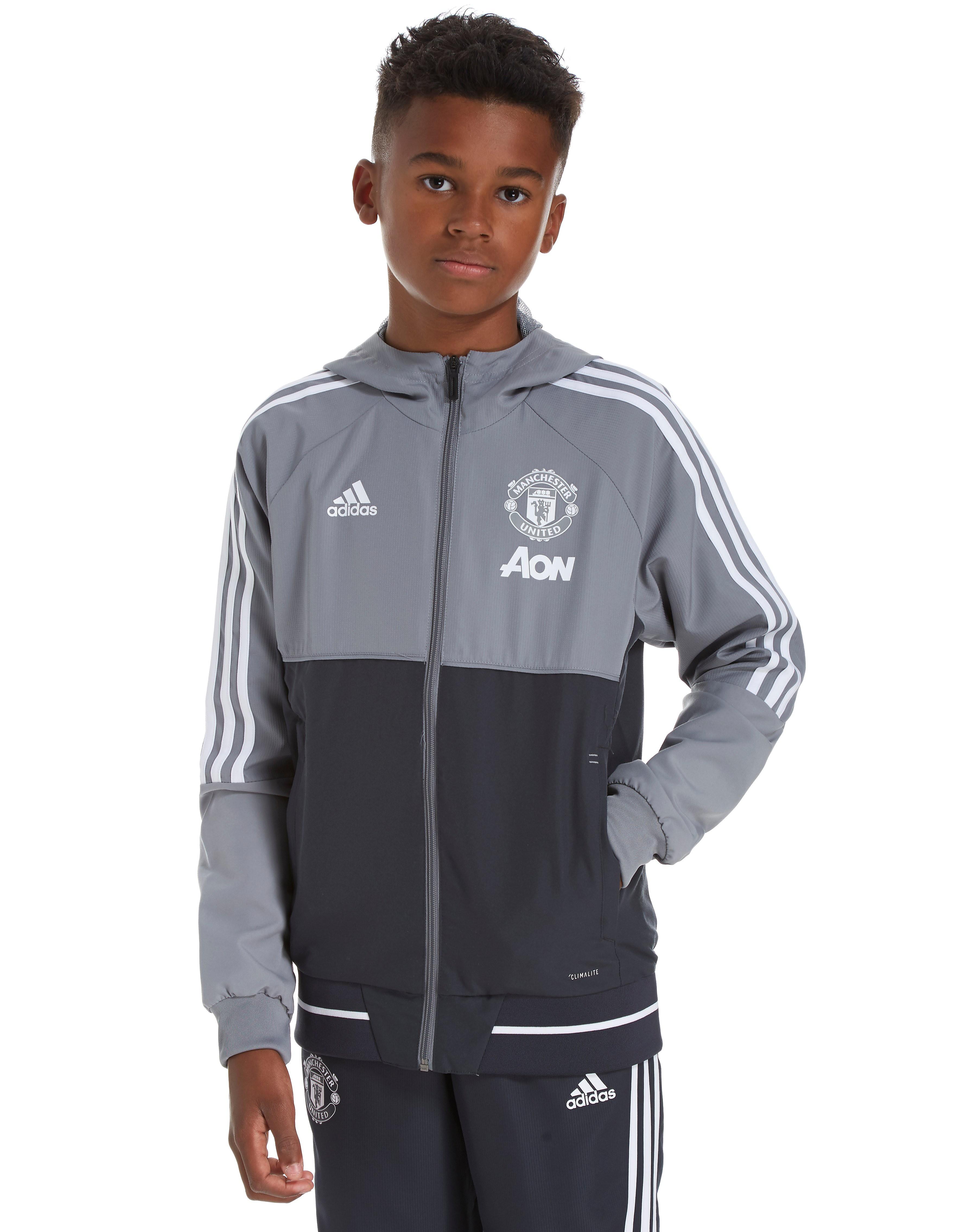 adidas Manchester United 2017 Presentation Jacket Junior