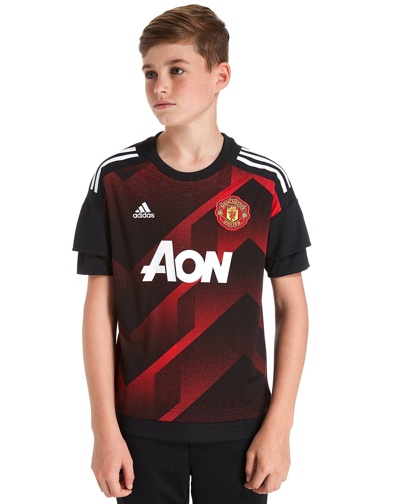 adidas Manchester United Pre Match Top Junior