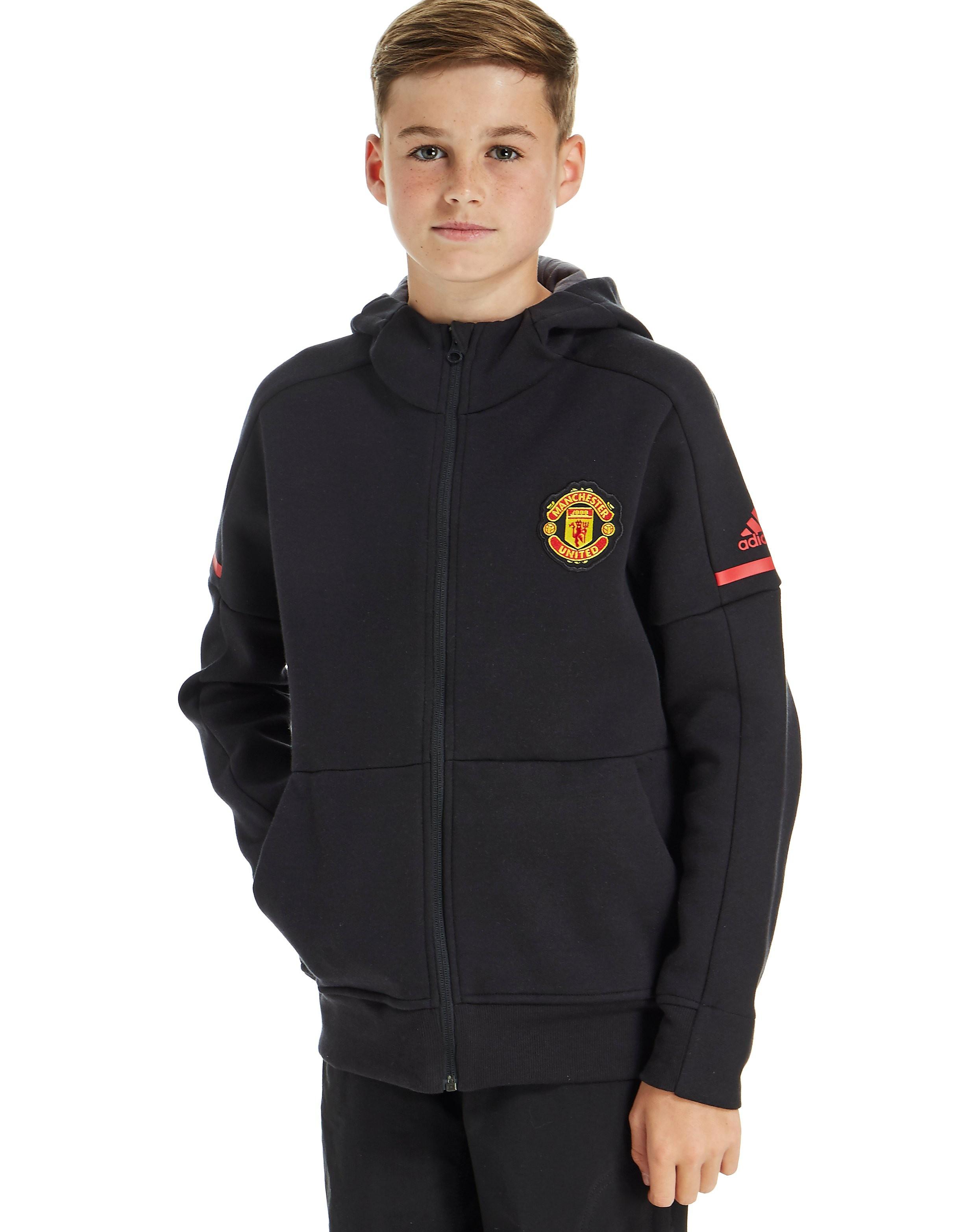 adidas Manchester United 2017 Anthem Hoodie Junior