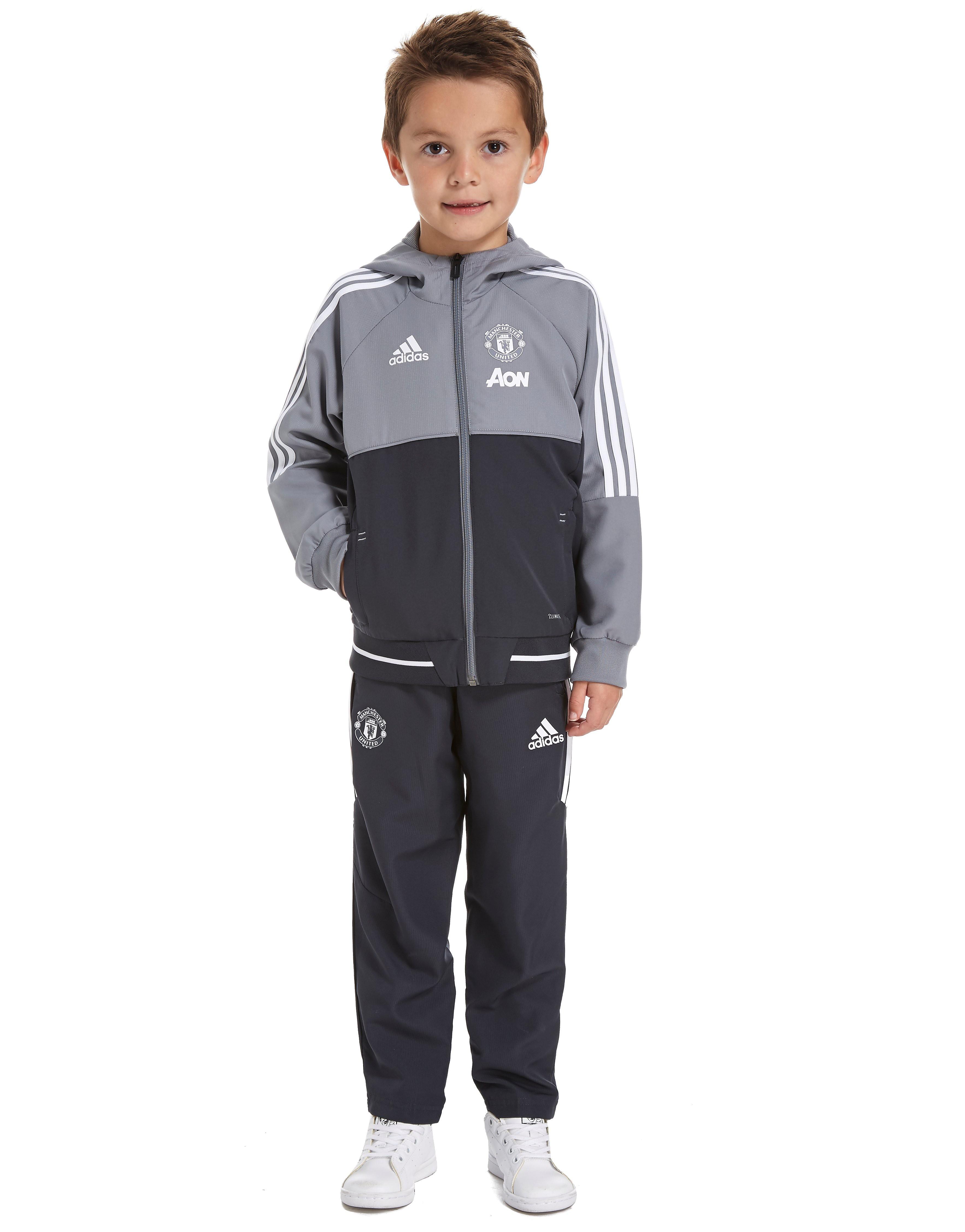Image de adidas Ensemble Enfant Manchester United 2017 - Grey, Grey