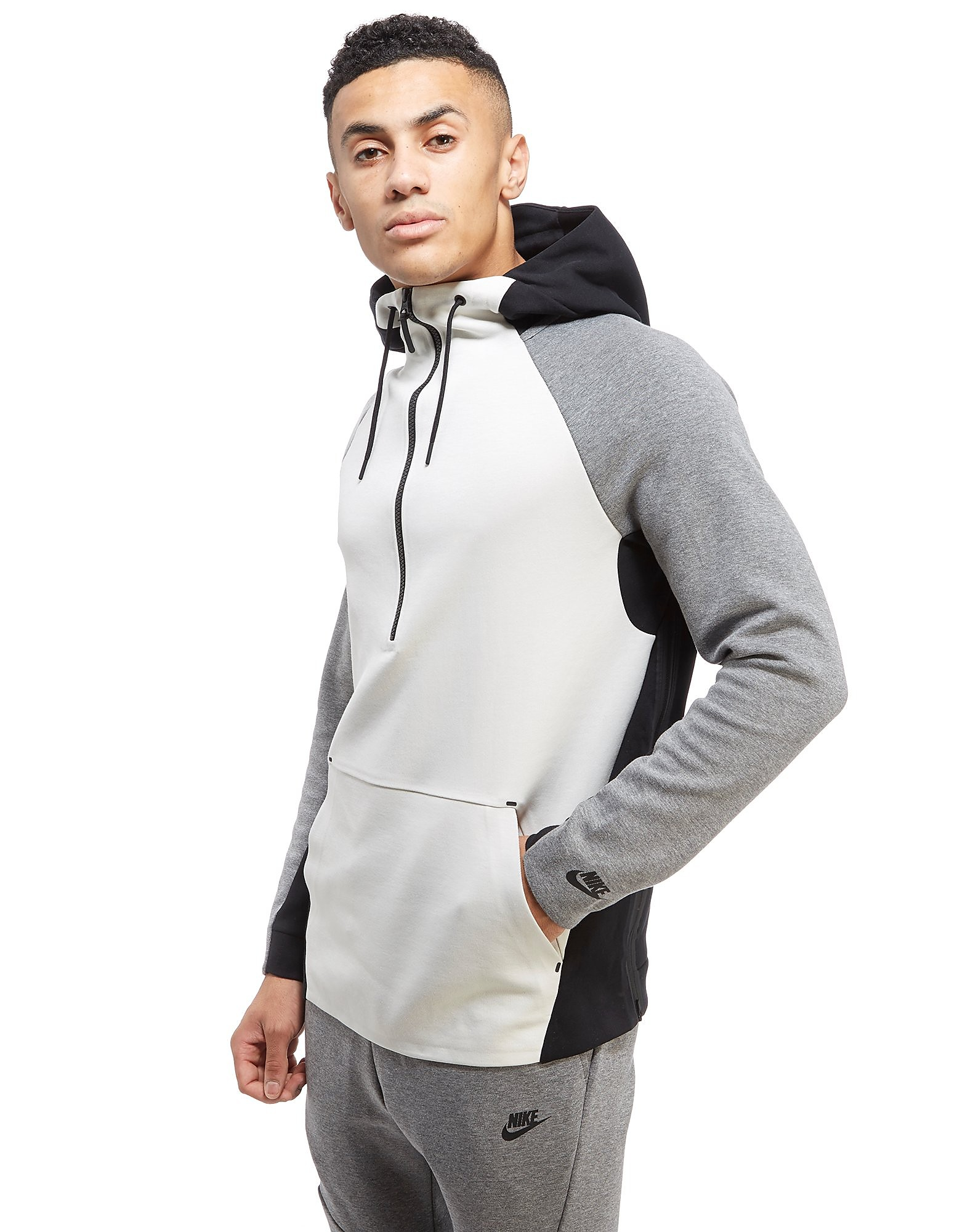 Nike Tech Colourblock Half Zip Hoody