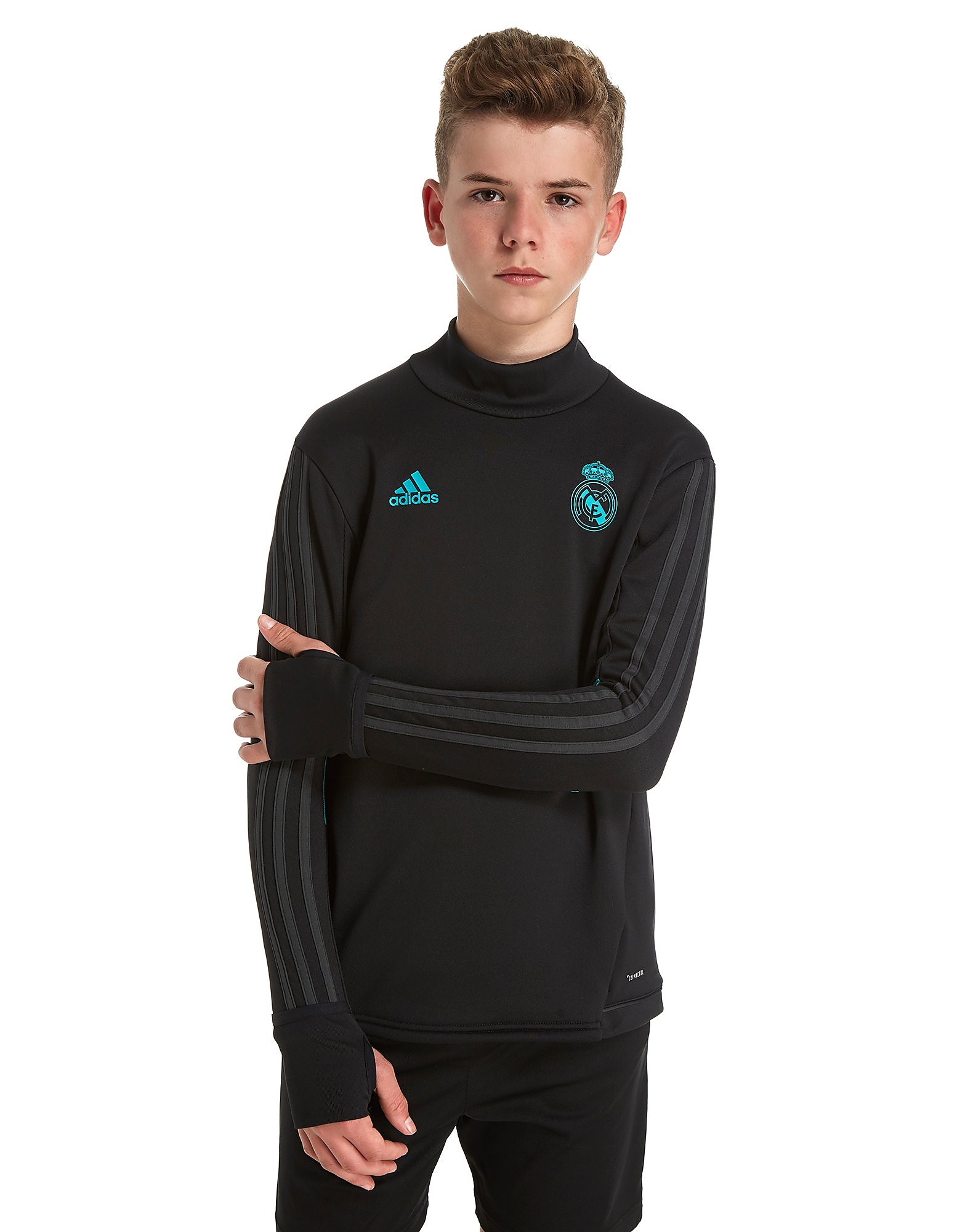 adidas Real Madrid 2017 træningsoverdel junior