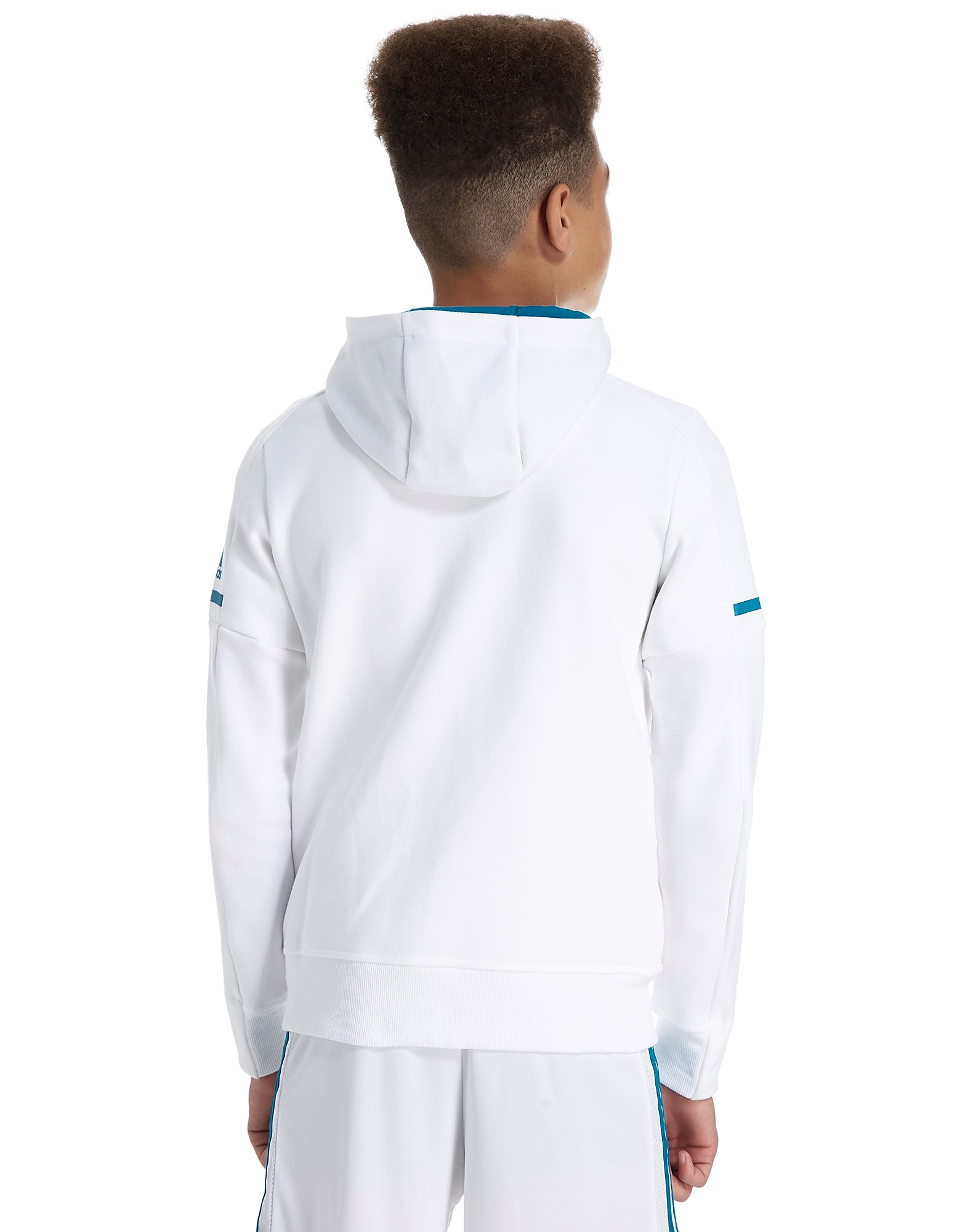 adidas Real Madrid 2017 Anthem Hoody Junior