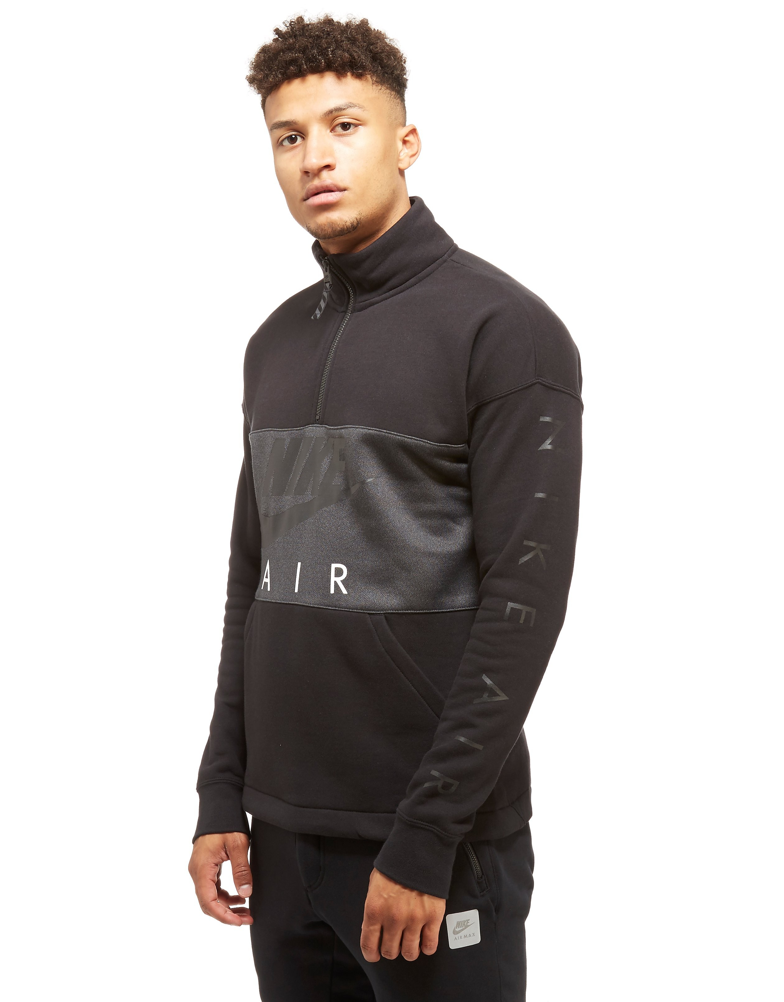 Nike Sweatshirt Air half Zip Homme