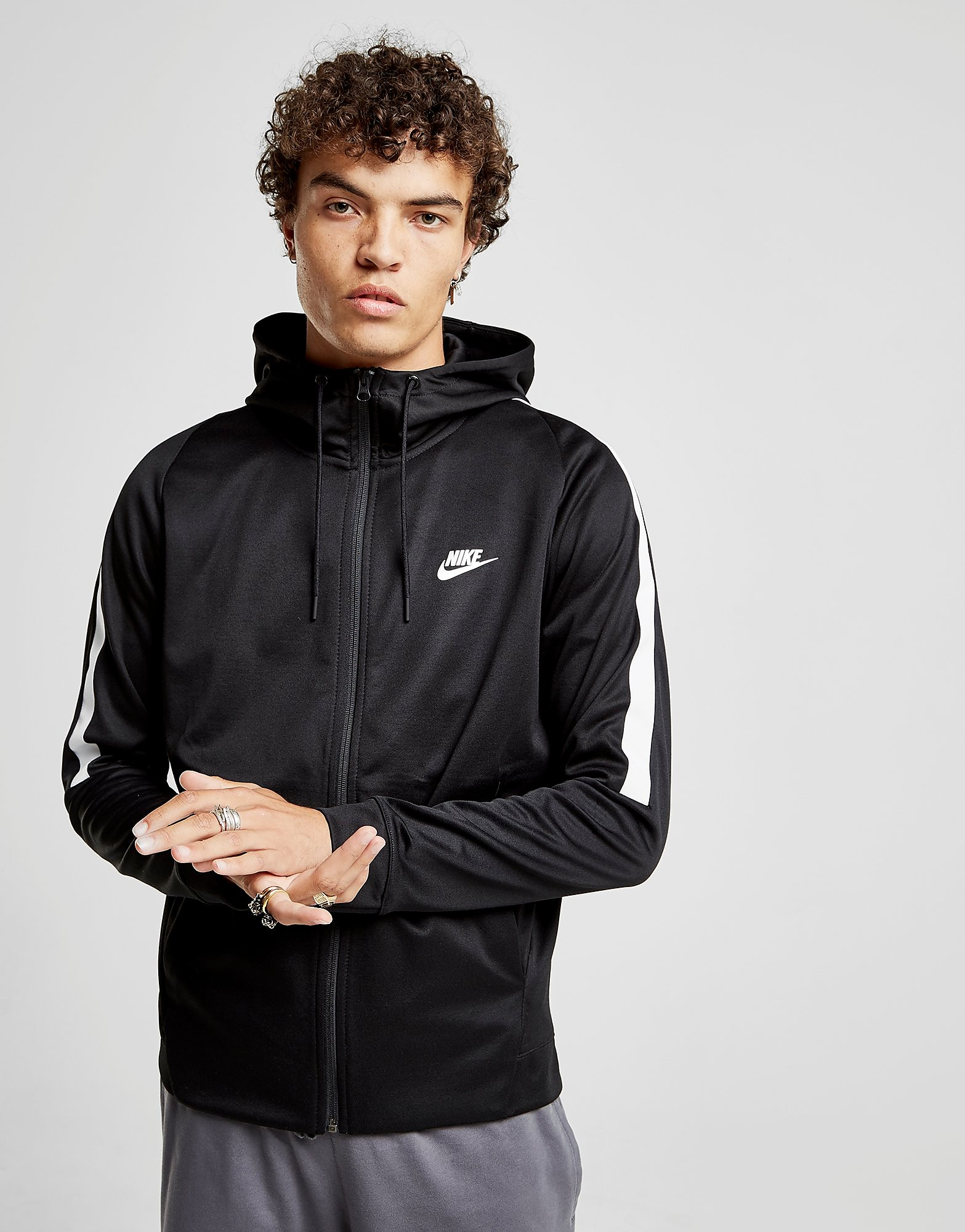 Nike Tribute Full Zip Poly Hoodie