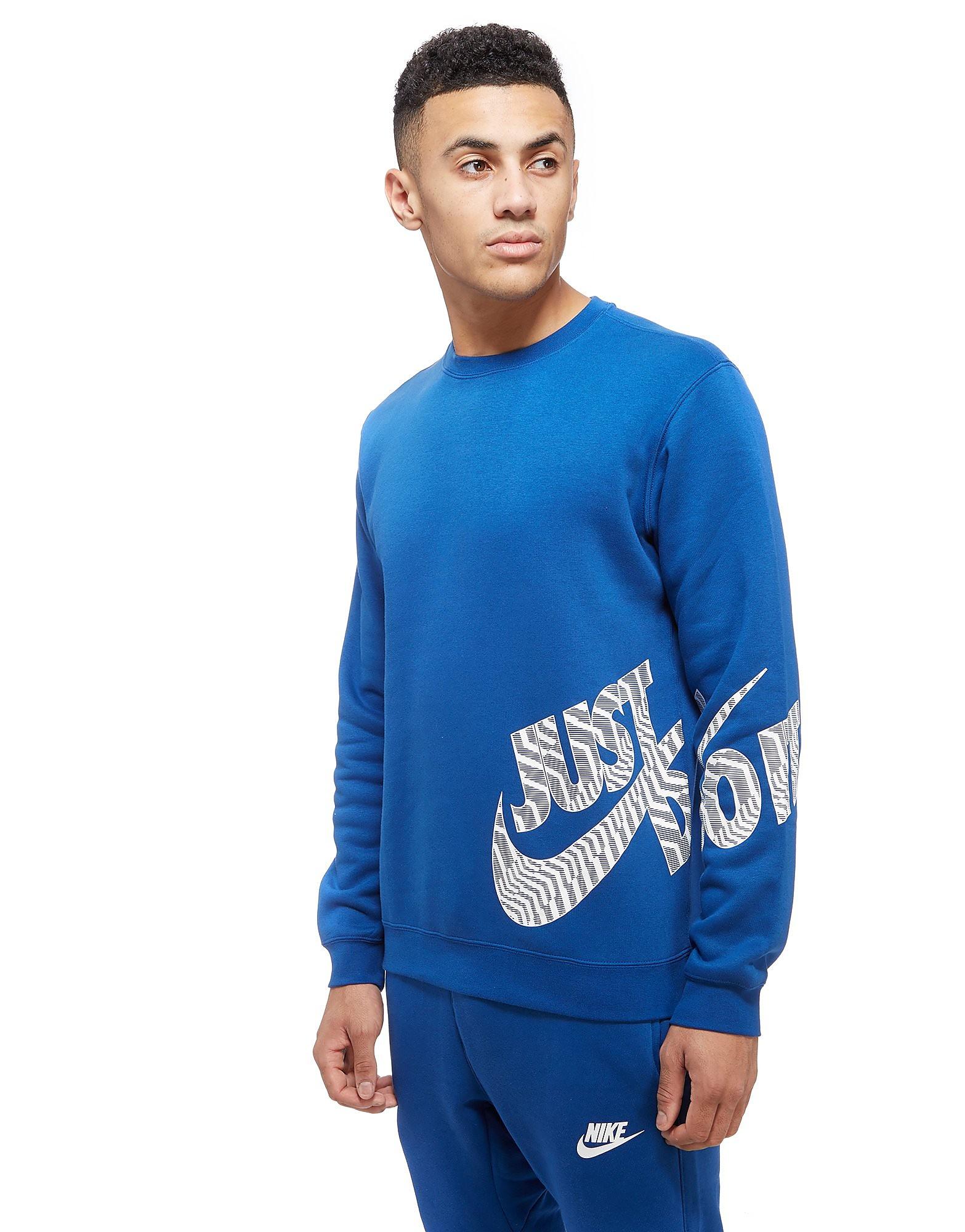 Nike Just Do It Logo Crew Sweatshirt