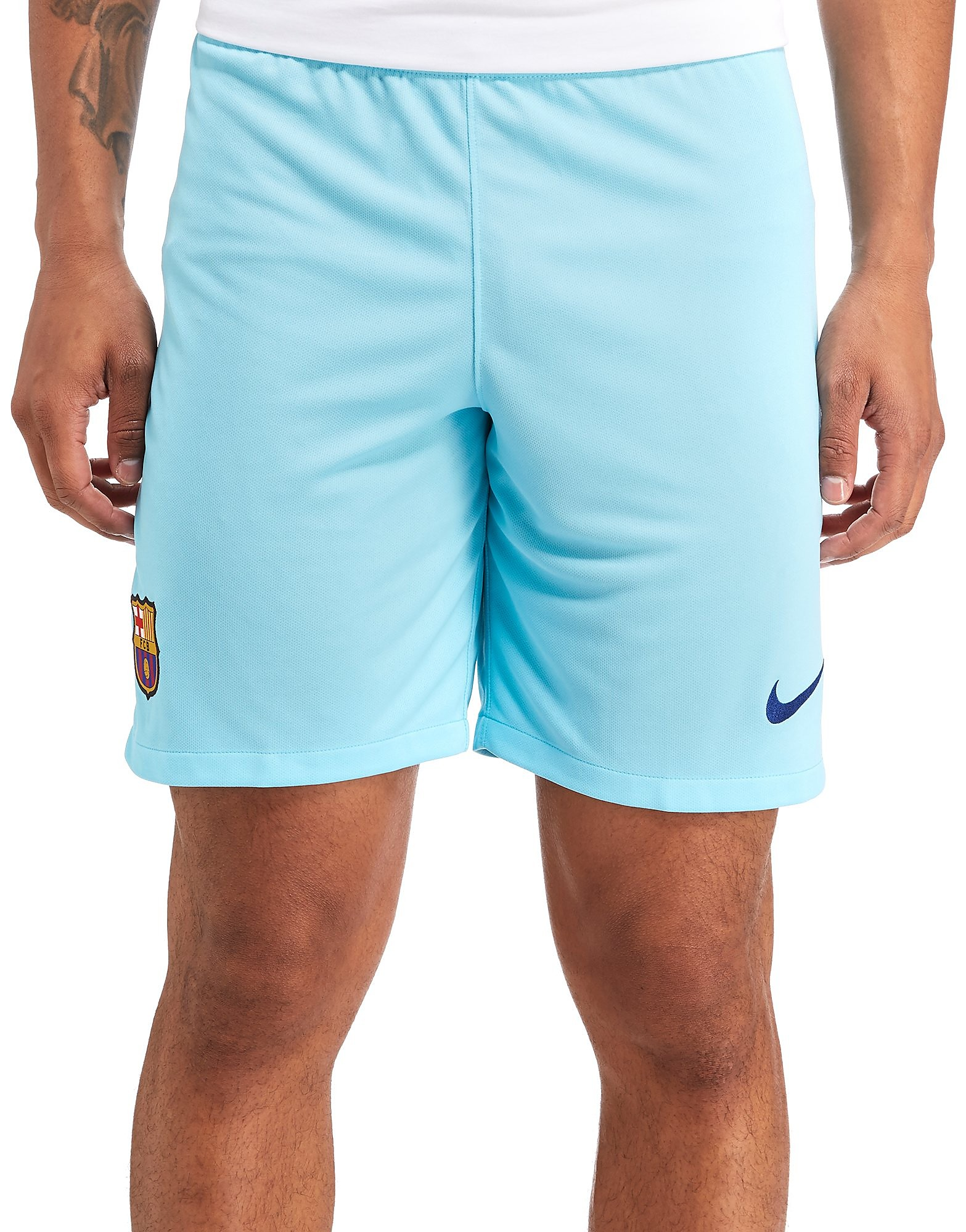 Nike Barcelona 2017/18 Away Shorts