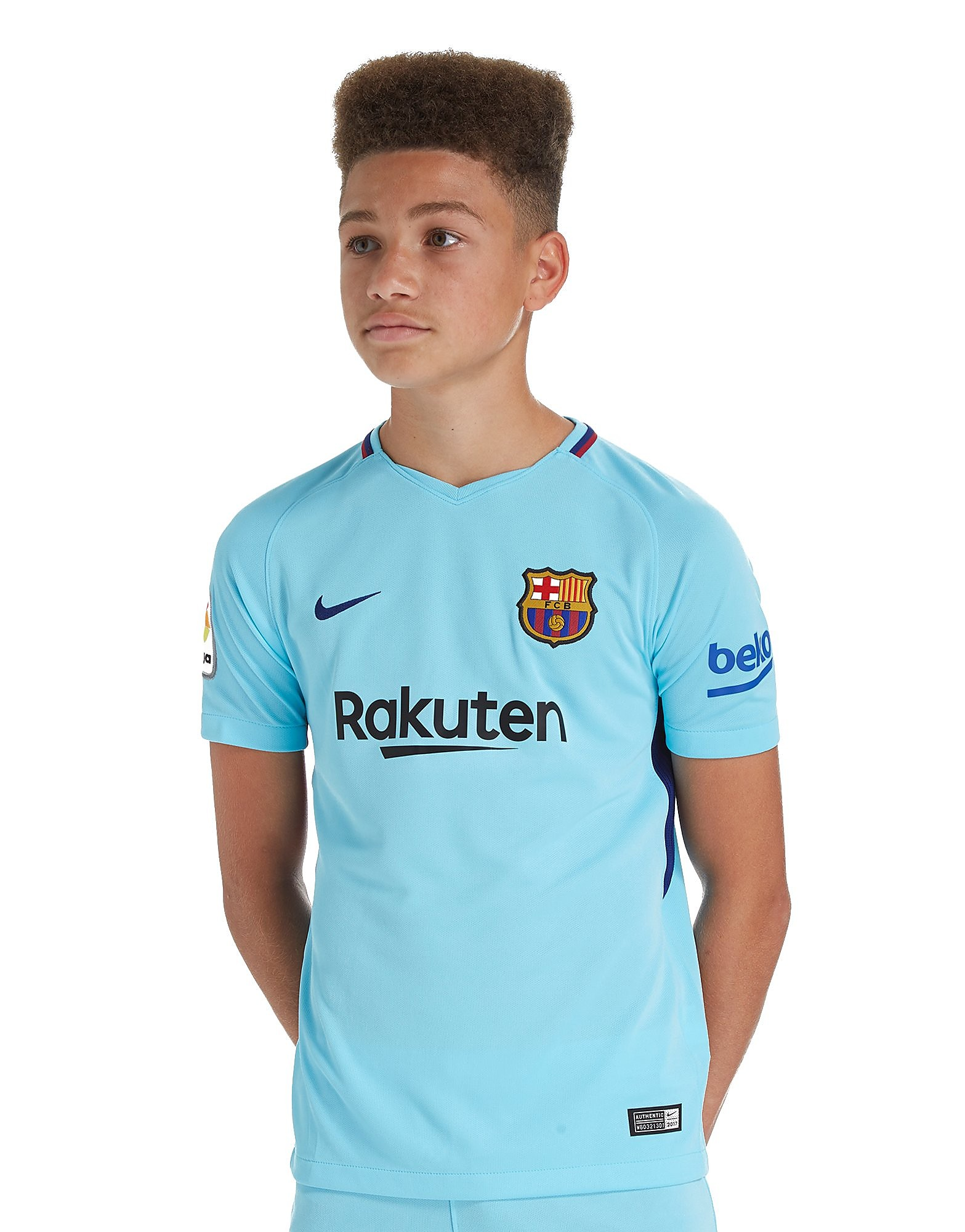 Nike Barcelona 2017/18 Away Shirt Junior