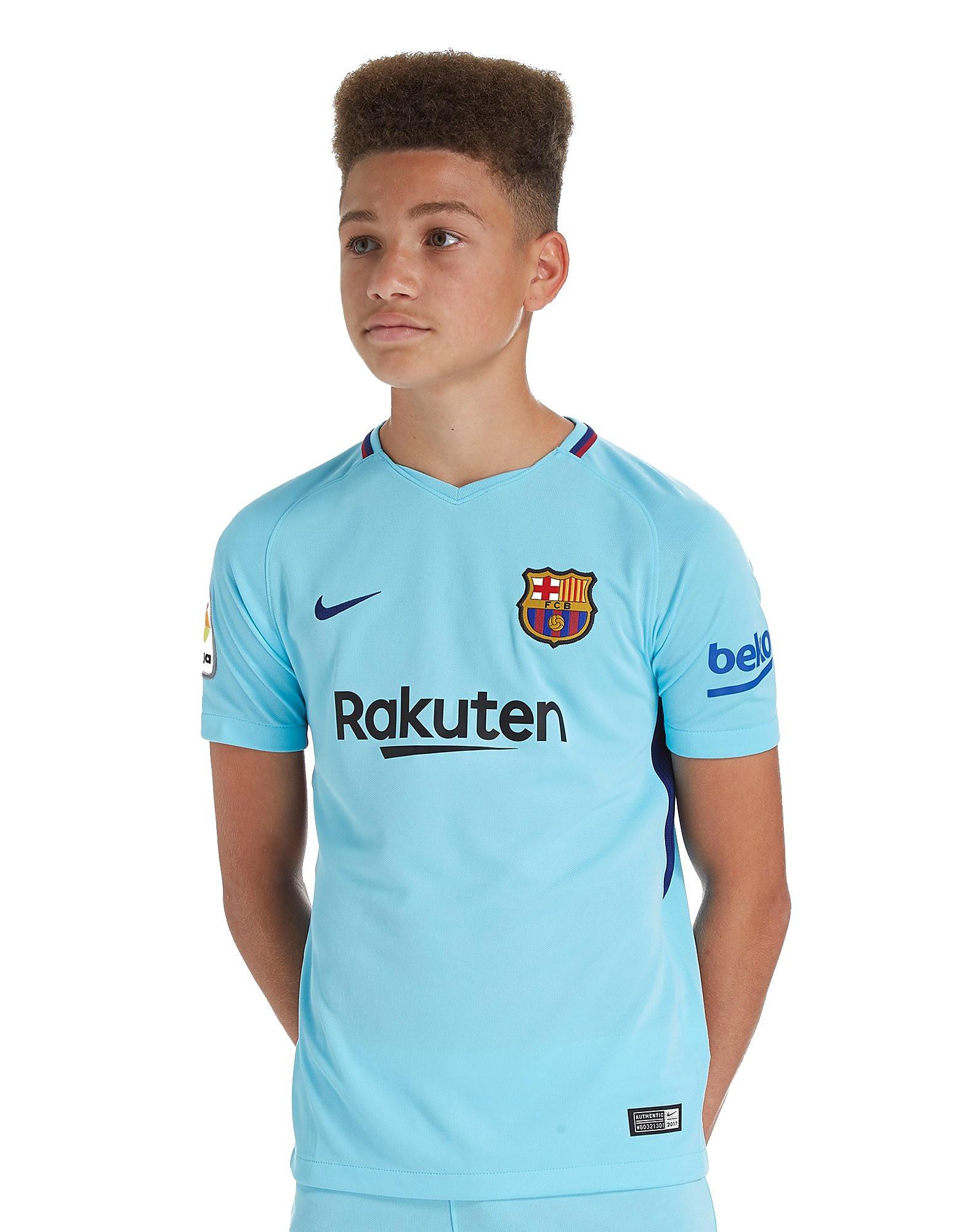 Nike Barcelona 2017/18 Away Shirt Junior