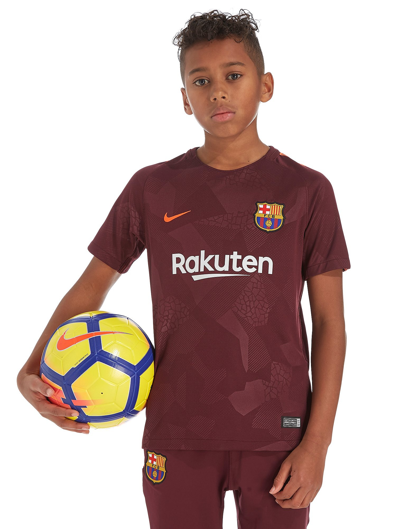 Nike FC Barcelona 2017/18 Third Shirt Junior