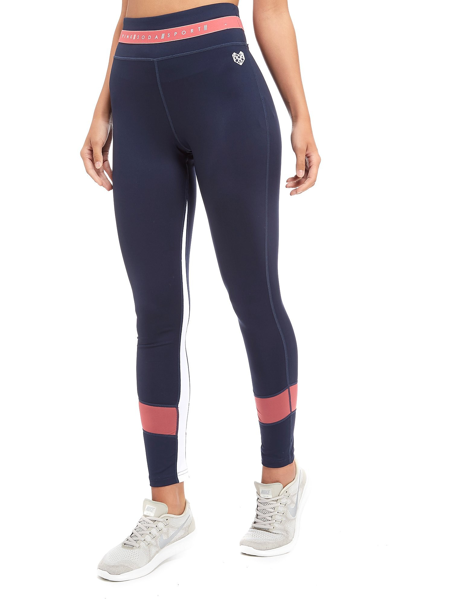 Pink Soda Sport Panel Fitness Tights