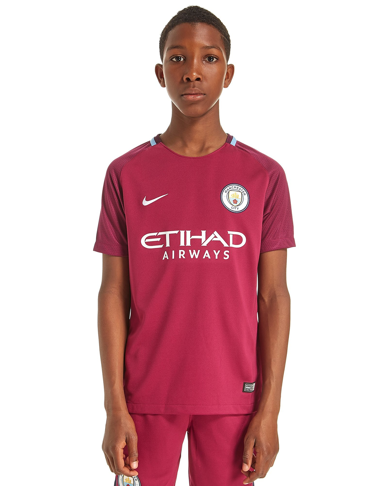 Nike Manchester City 2017/18 Away Shirt Junior