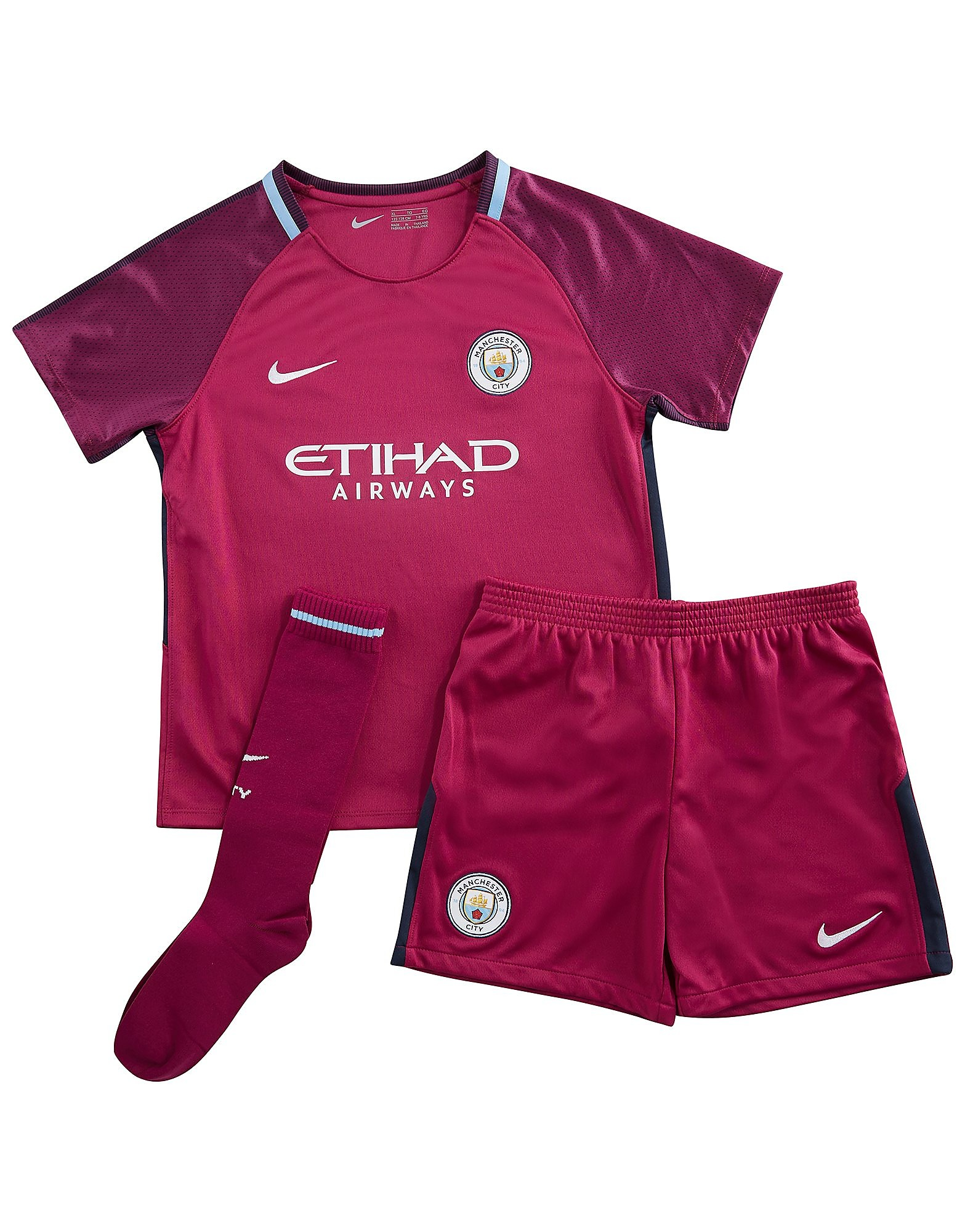 Nike Manchester City 2017/18 Away Kit Children