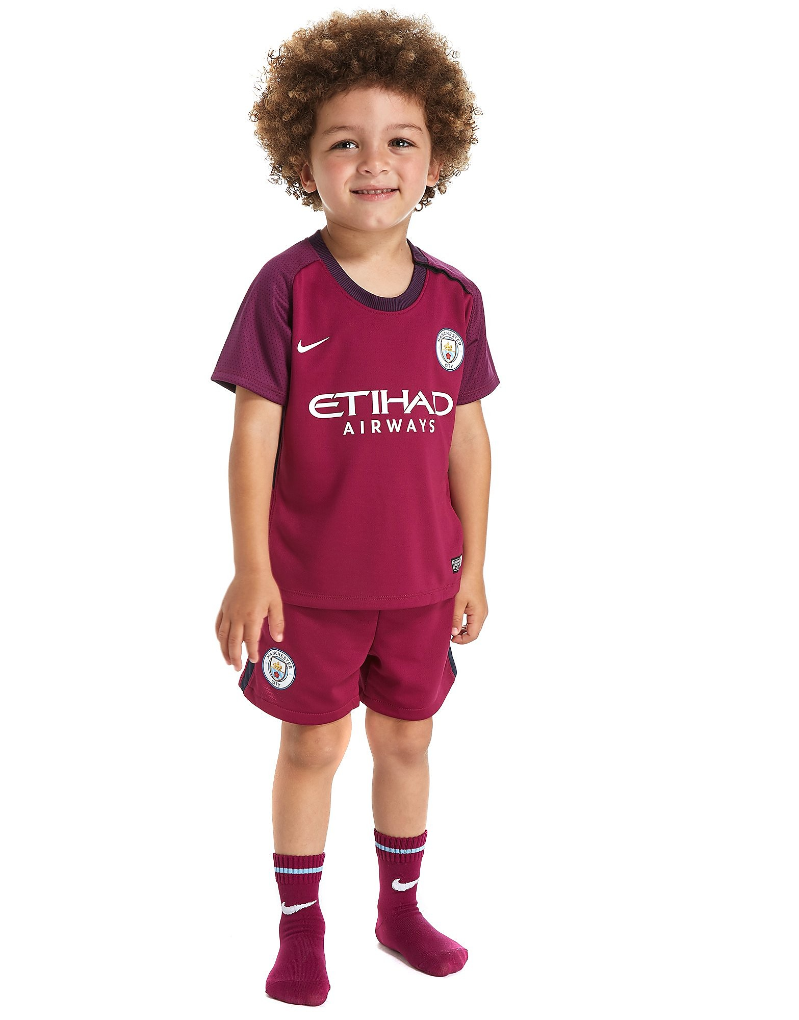 Nike Manchester City 2017/18 Away Ensemble Enfant